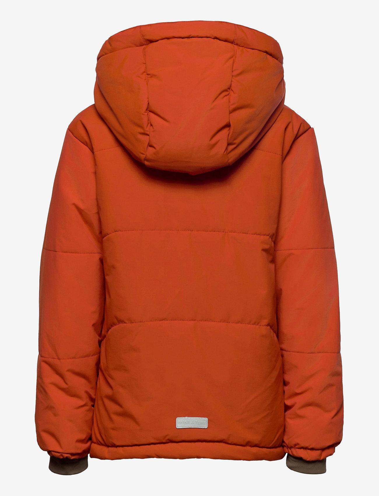 Mini A Ture - Weli Jacket, K - dunjakker & forede jakker - rooibos tea orange - 1