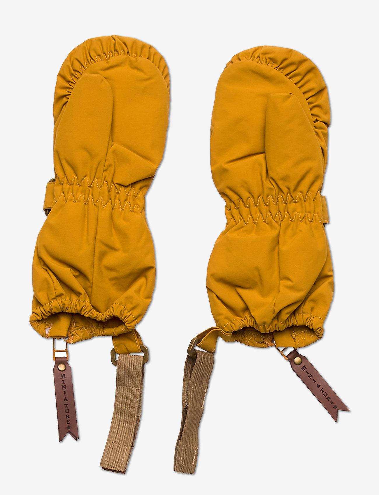 Mini A Ture - Cesar Gloves, M - winterkleding - buckthorn brown - 1
