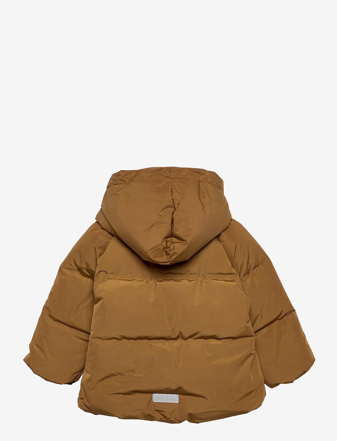 Mini A Ture - Woody Jacket, M - dunjakker & forede jakker - rubber brown - 1