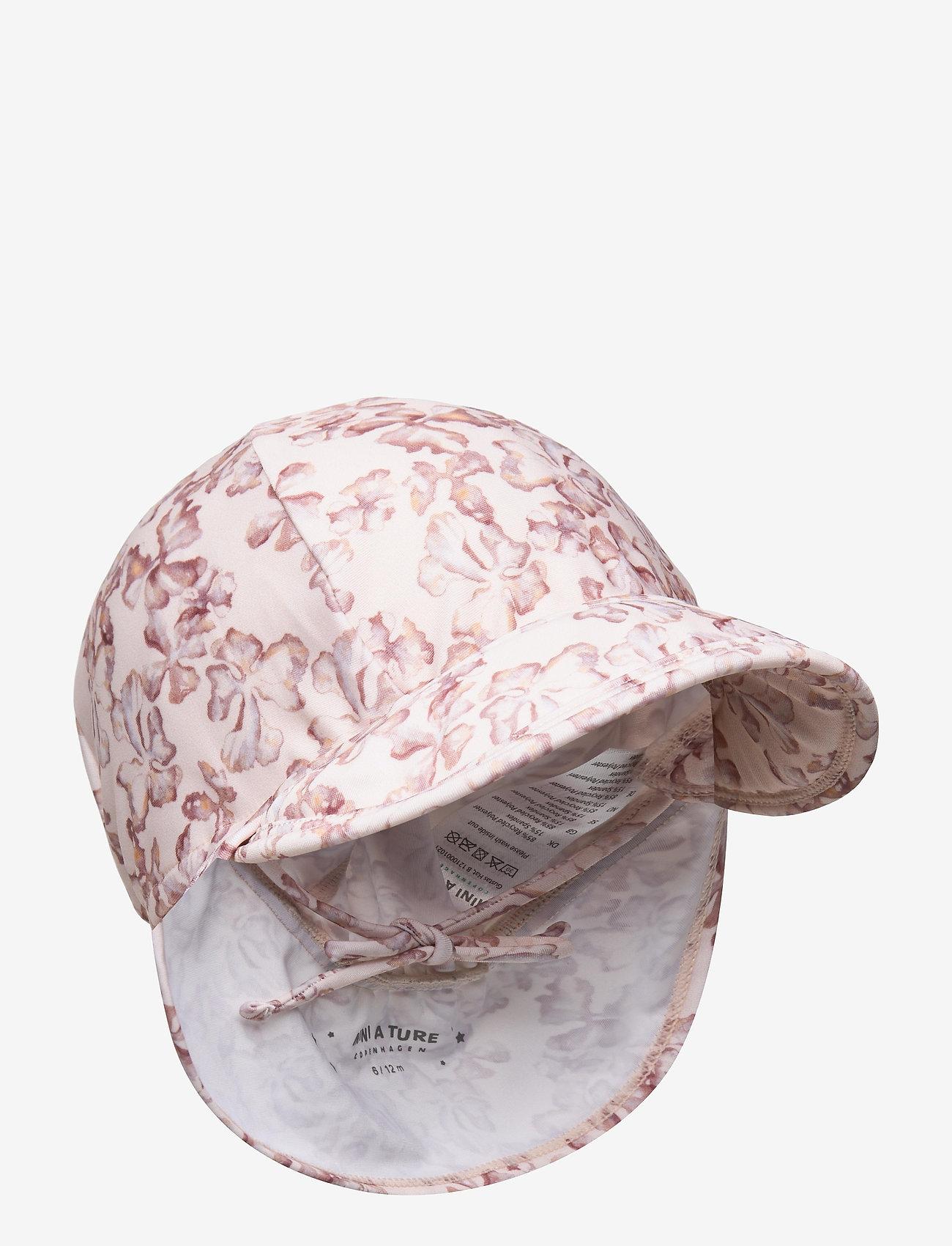Mini A Ture - Gustas Hat, B - sun hats - shell rose - 0
