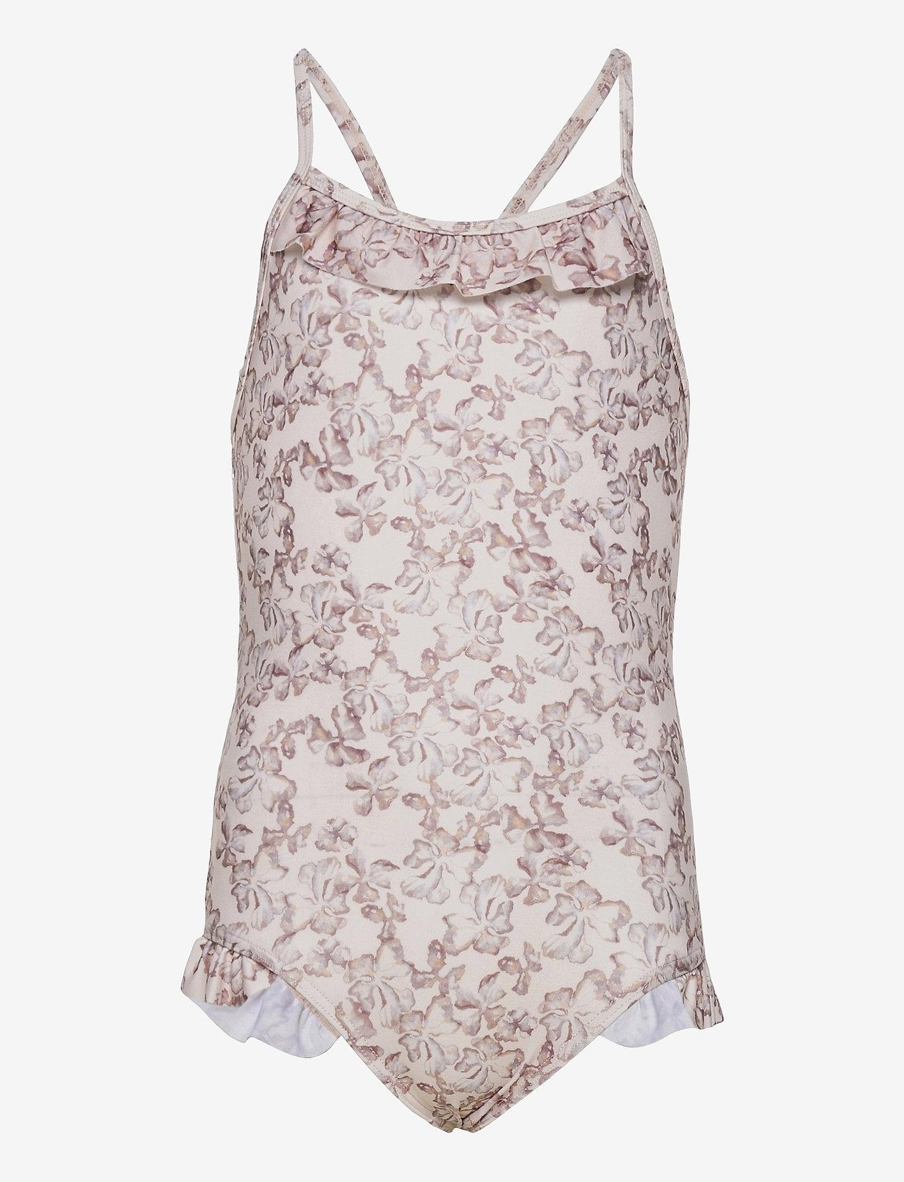 Mini A Ture - Gritt Swimsuit, K - swimsuits - shell rose - 0