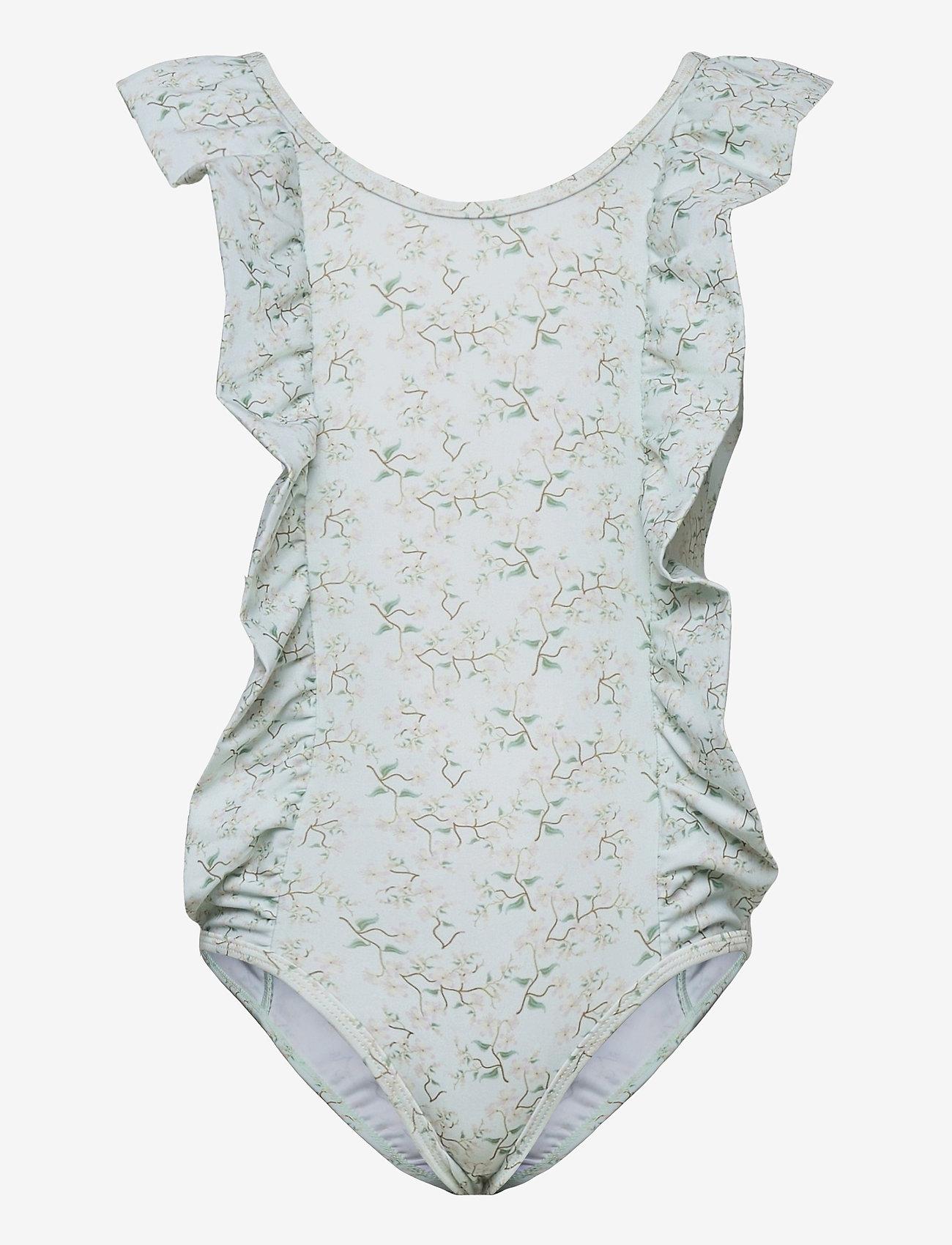 Mini A Ture - Delicia Swimsuit, K - swimsuits - pale aqua - 0