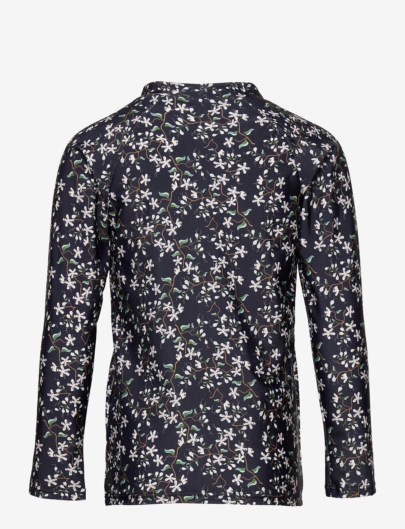 Mini A Ture - Gani T-shirt, K - uv-clothing - deep well blue - 1