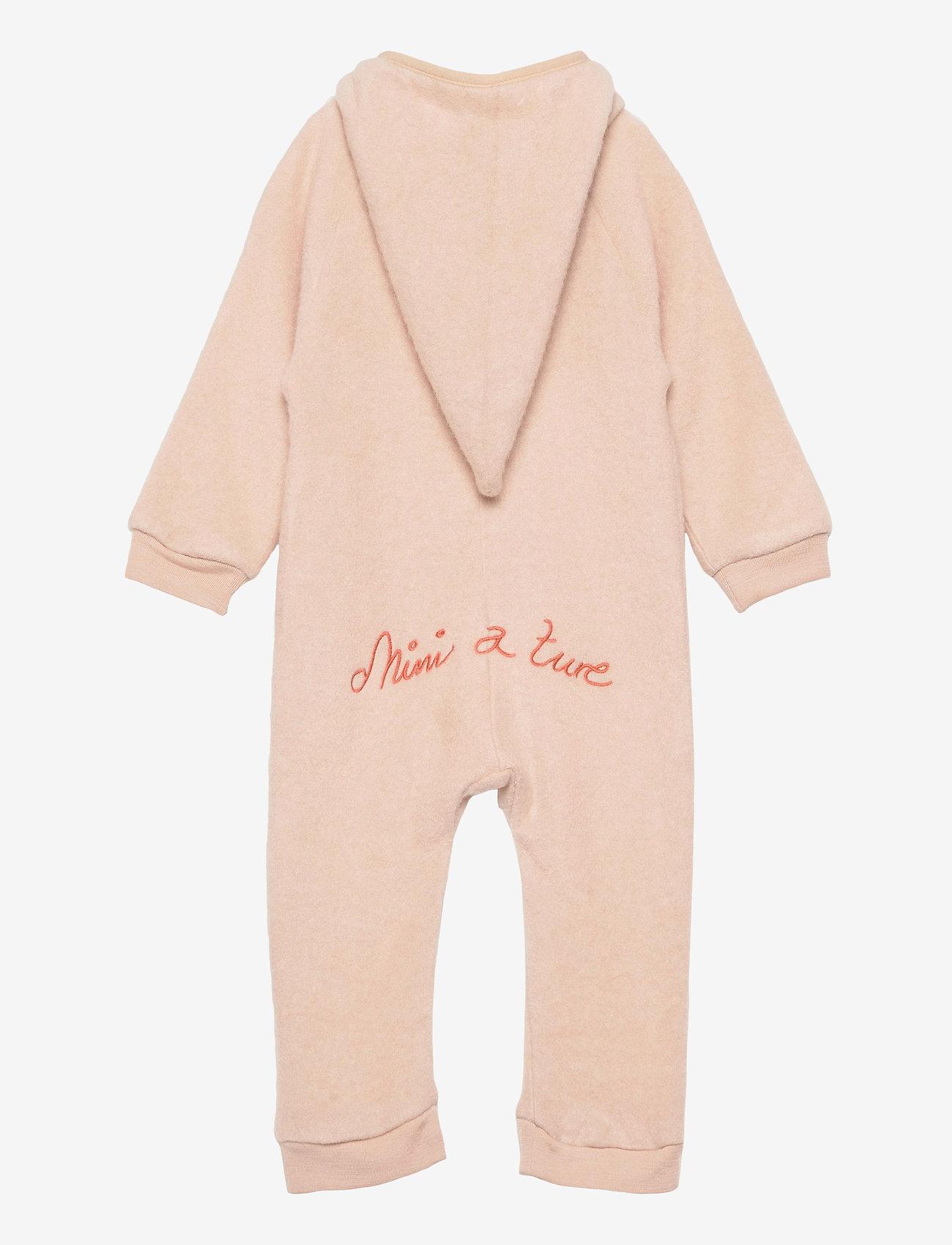Mini A Ture - Adel Romper, B - outerwear - rose dust - 1