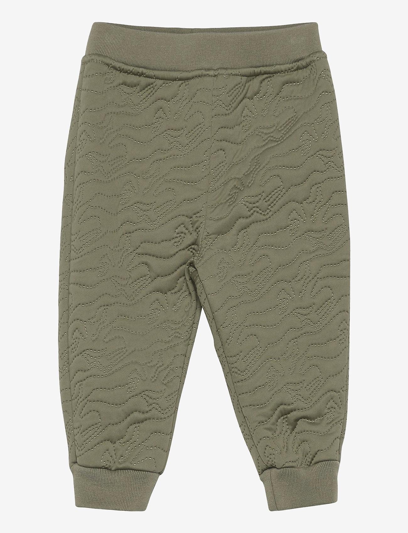 Mini A Ture - Daris Pants, M - overall - deep green - 0