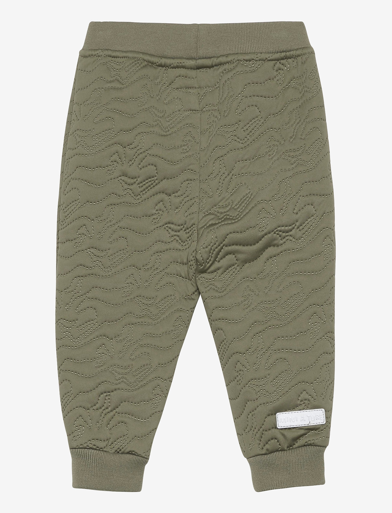 Mini A Ture - Daris Pants, M - overall - deep green - 1