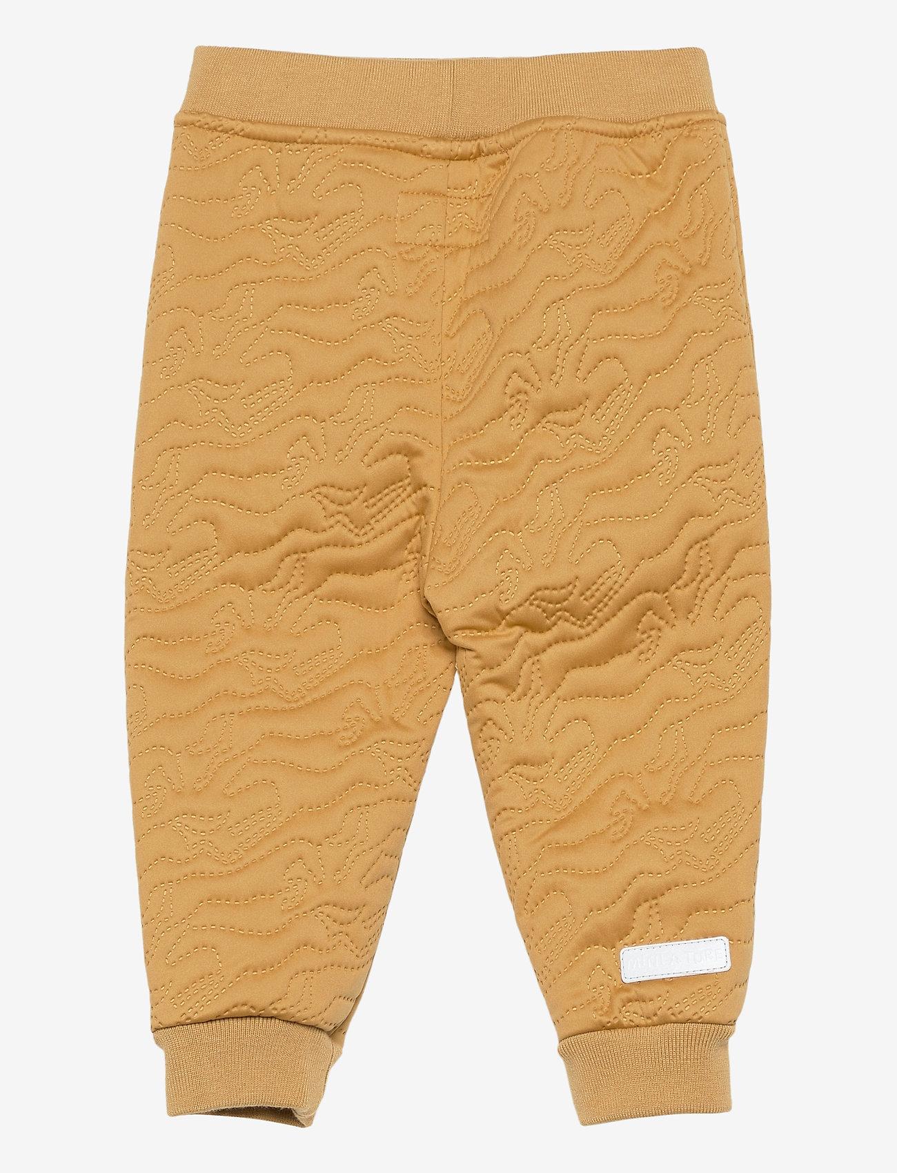 Mini A Ture - Daris Pants, M - coveralls - honey yellow - 1