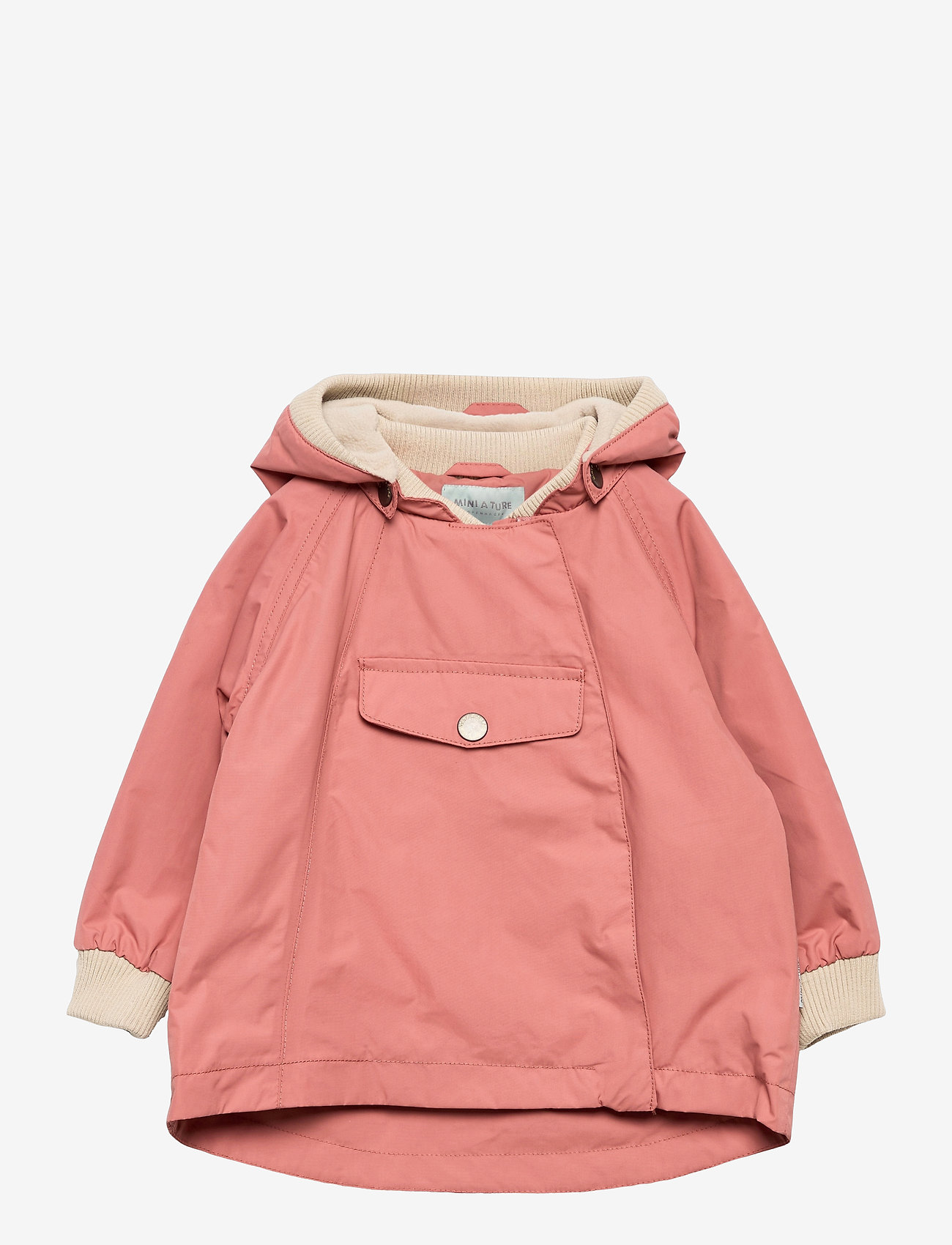 Mini A Ture - Wai Fleece Jacket, M - shell jassen - canyon rose - 0
