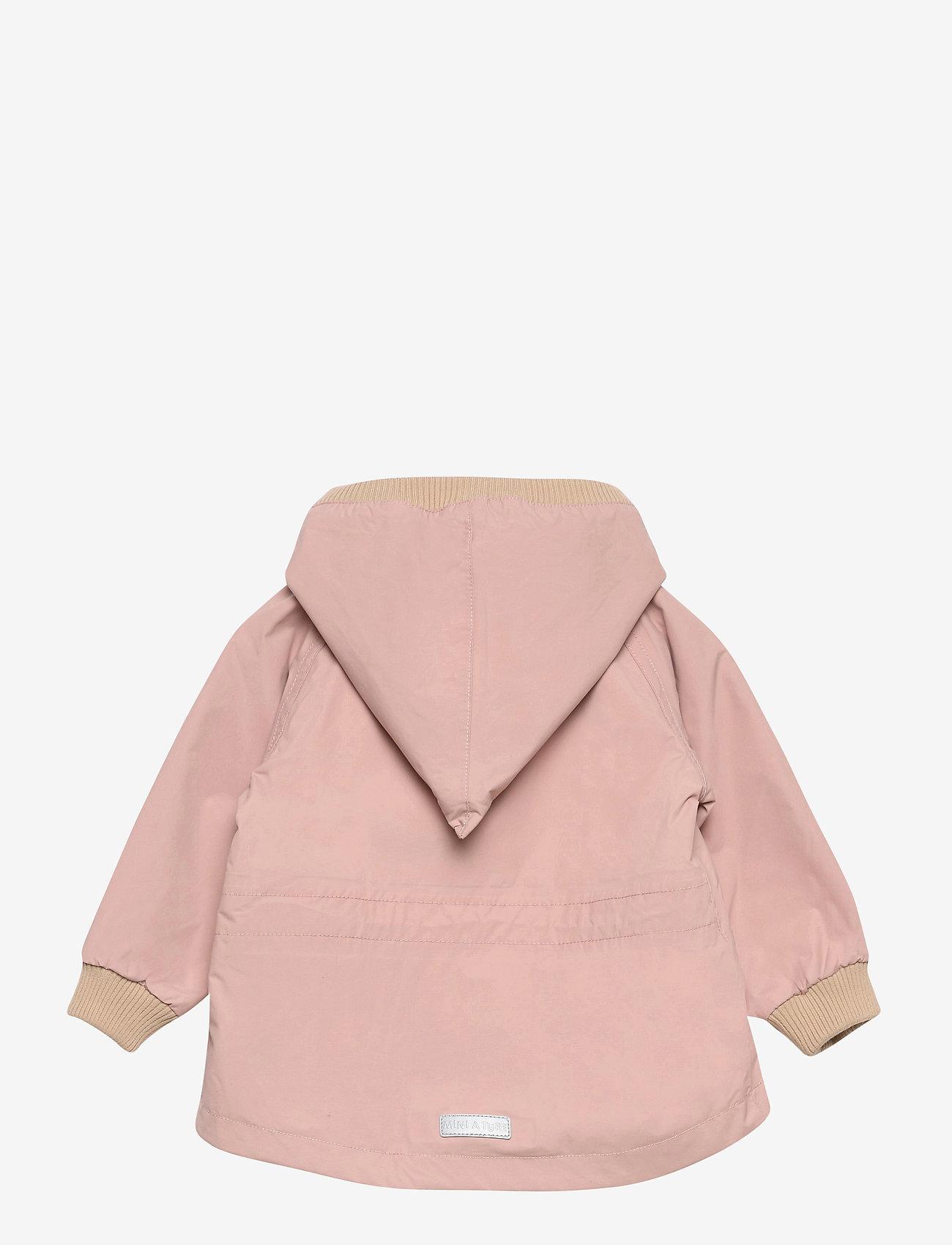 Mini A Ture - Wai Fleece Jacket, M - shell jassen - cloudy rose - 1