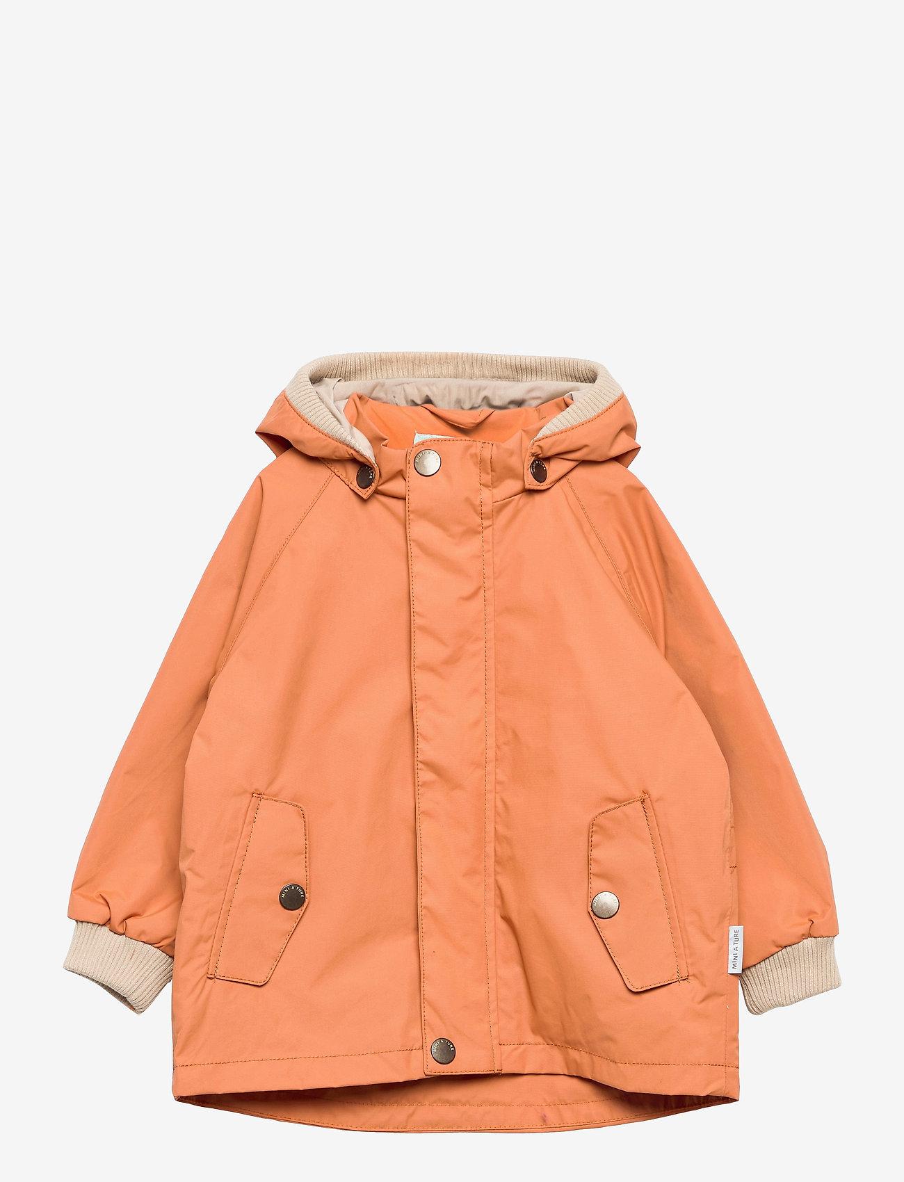 Mini A Ture - Wally Jacket, M - shell jackets - terra cotta - 0