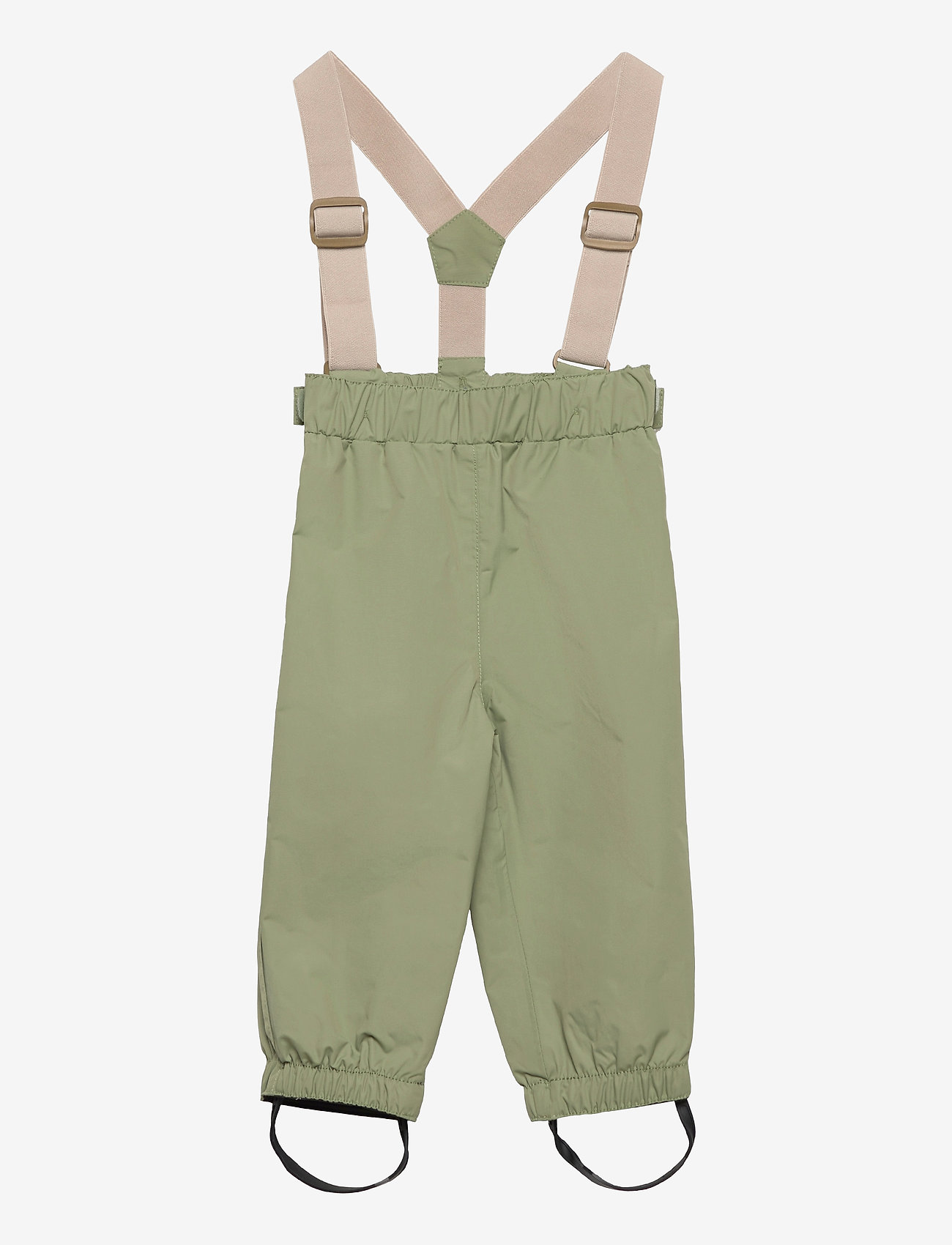 Mini A Ture - Wilans Suspenders Pants, BM - outerwear - oil green - 0