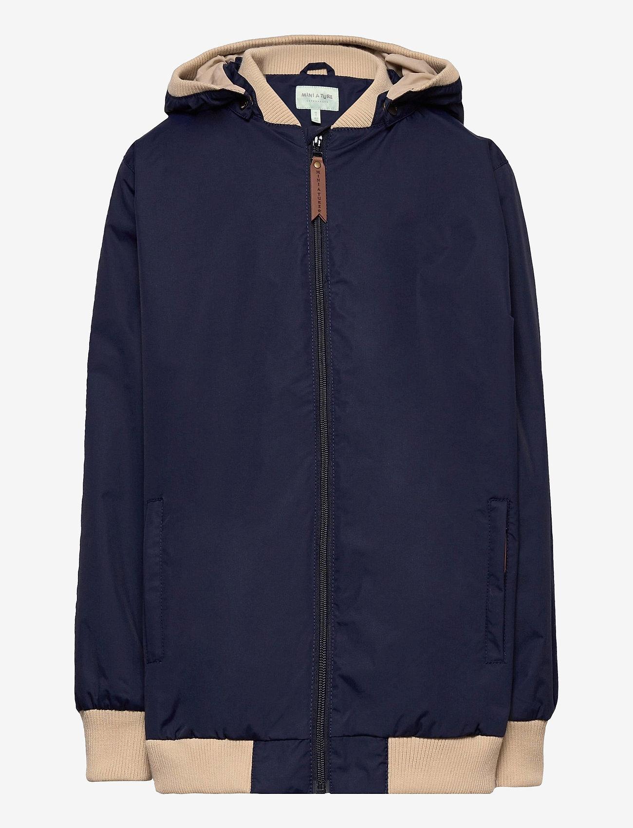 Mini A Ture - Wilder Jacket, K - shell jackets - maritime blue - 0