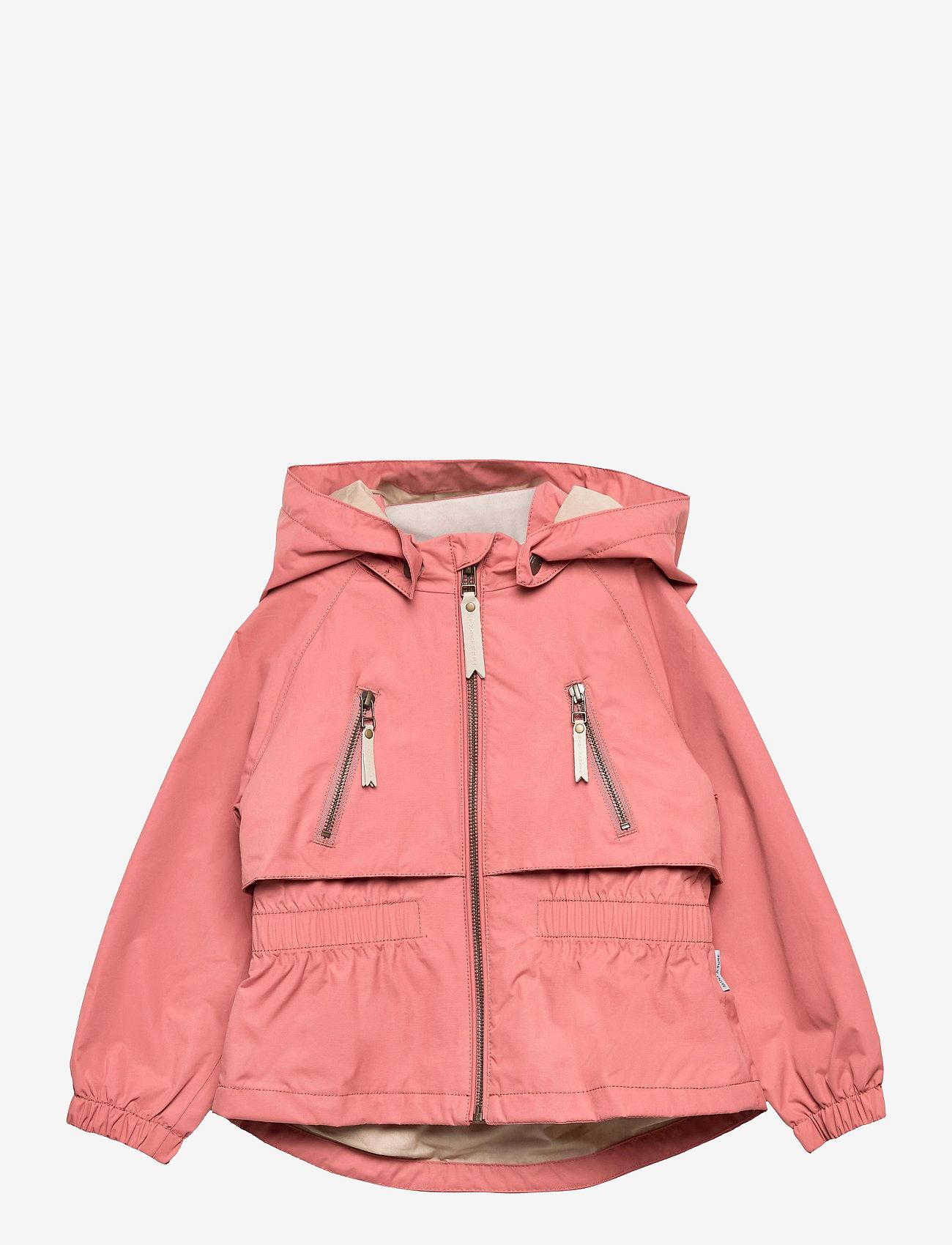 Mini A Ture - Algea Jacket, K - shell jackets - canyon rose - 0