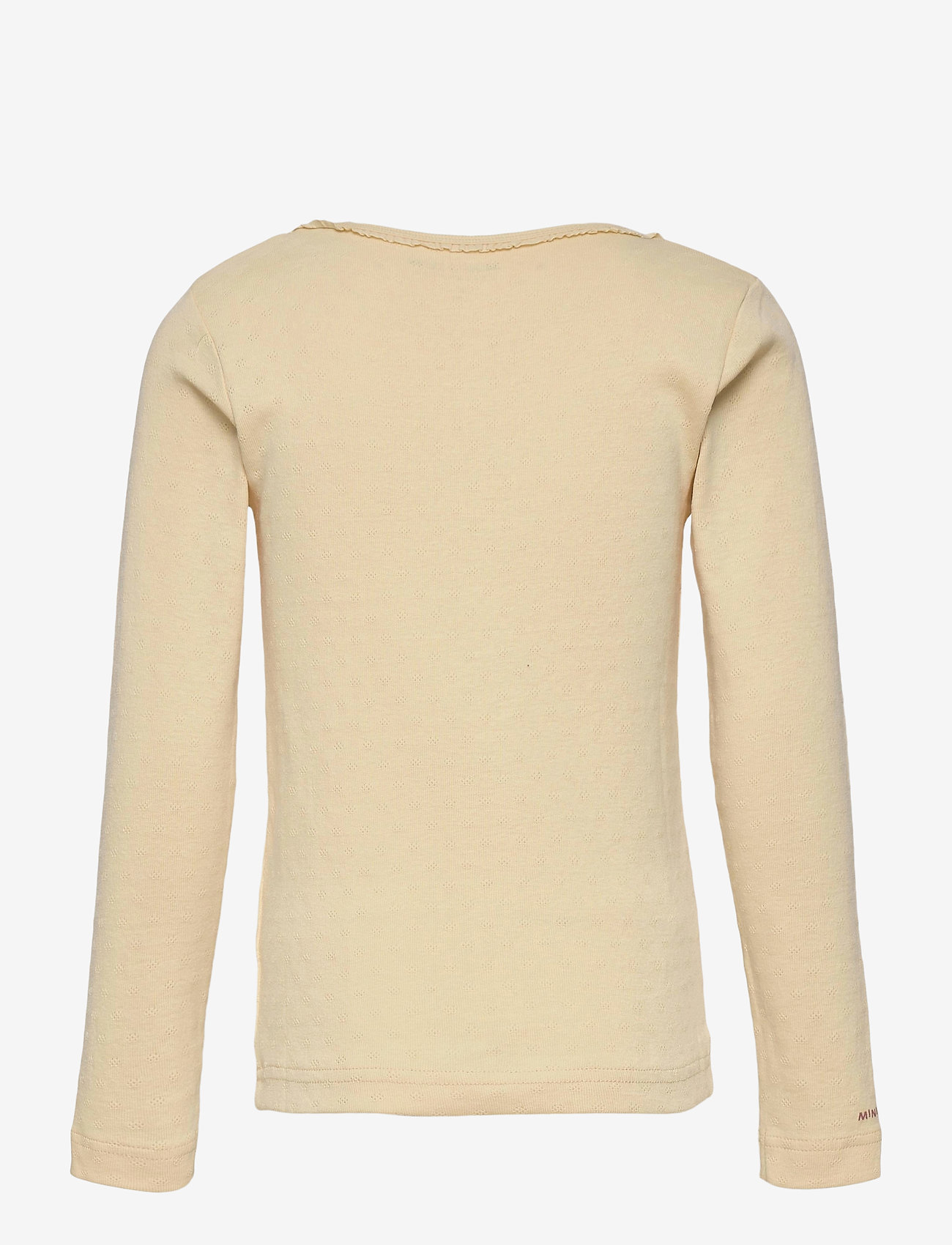 Mini A Ture - Aje T-shirt GOTS, K - long-sleeved - apricot gelato - 1
