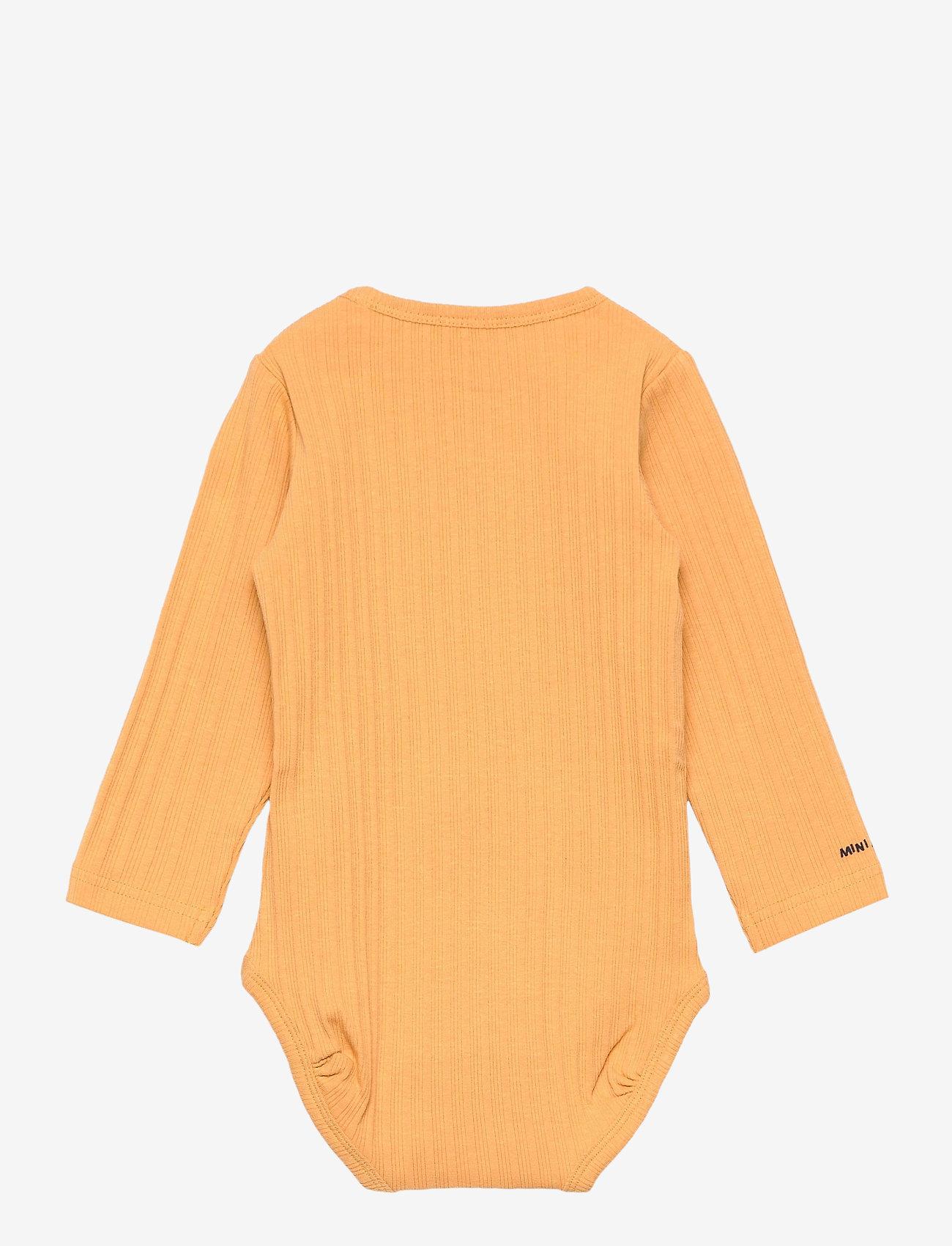 Mini A Ture - Yomi Body GOTS, B - long-sleeved - honey yellow - 1