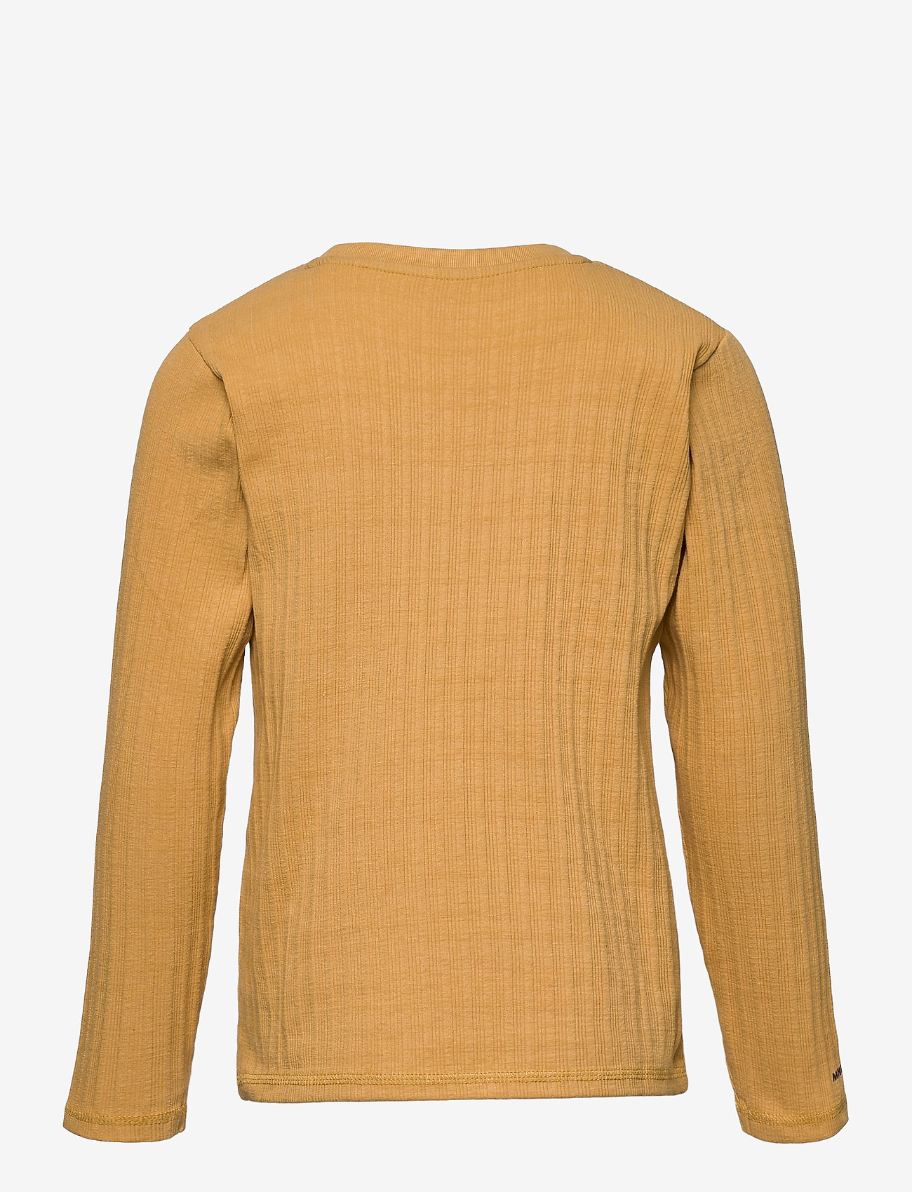 Mini A Ture - Carl-Emil T-shirt GOTS, K - long-sleeved - honey yellow - 1