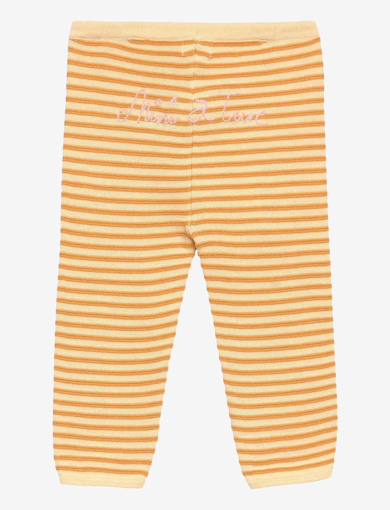 Mini A Ture - Tilda Pants, B - trousers - apricot gelato - 1