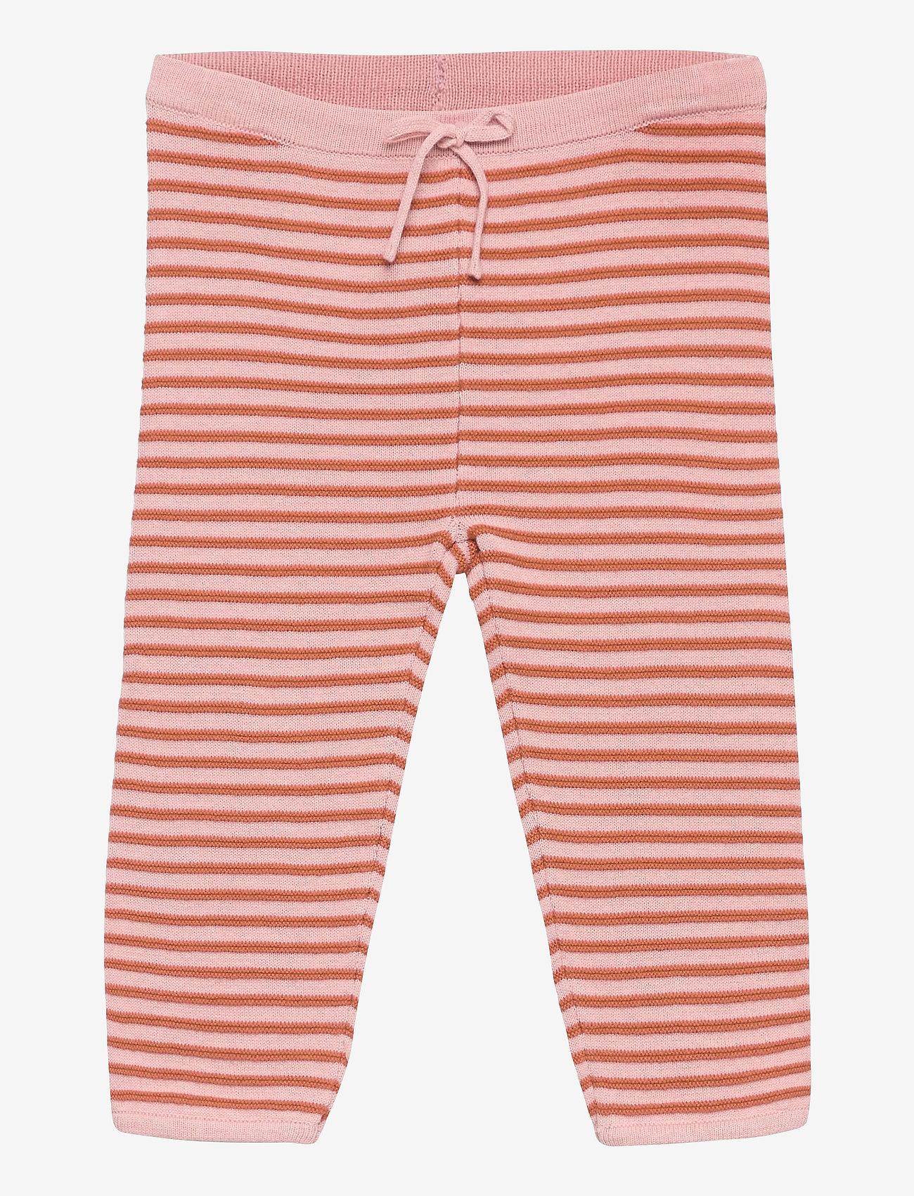Mini A Ture - Tilda Pants, B - trousers - lotus rose - 0