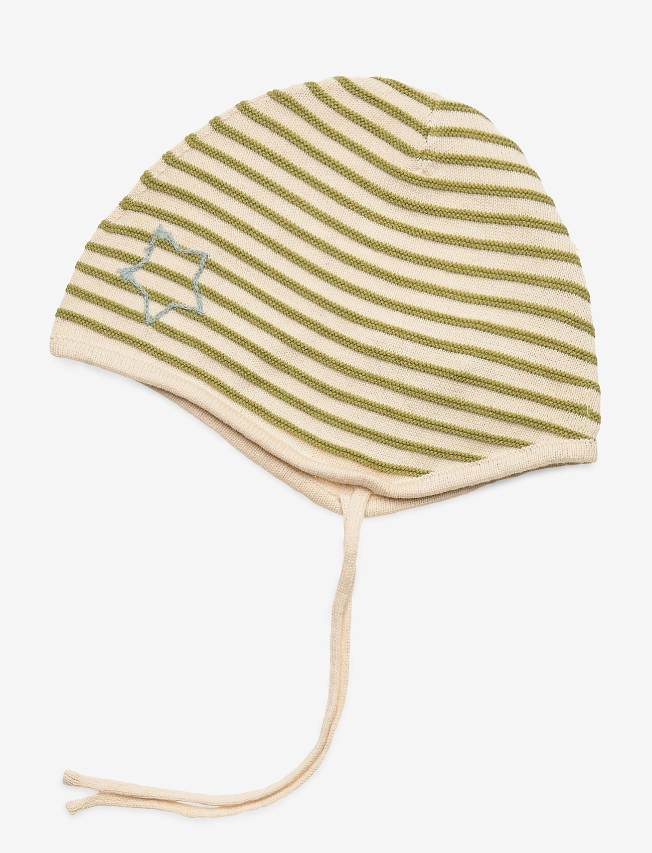 Mini A Ture - Urs Baby Hood, B - baby hats - tapioca sand - 0