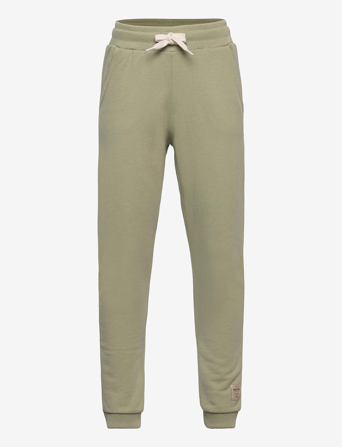 Mini A Ture - Even pants, K - sweatpants - oil green - 0