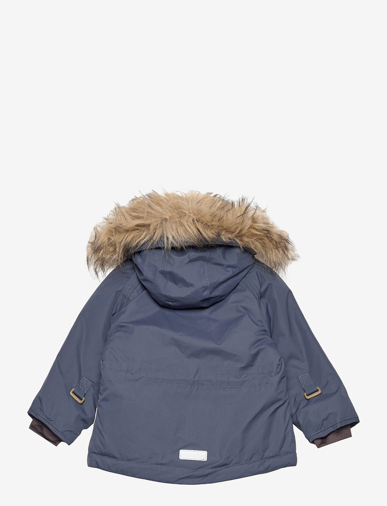 Mini A Ture - Wally Fake Fur Jacket, M - winter jacket - blue nights - 1