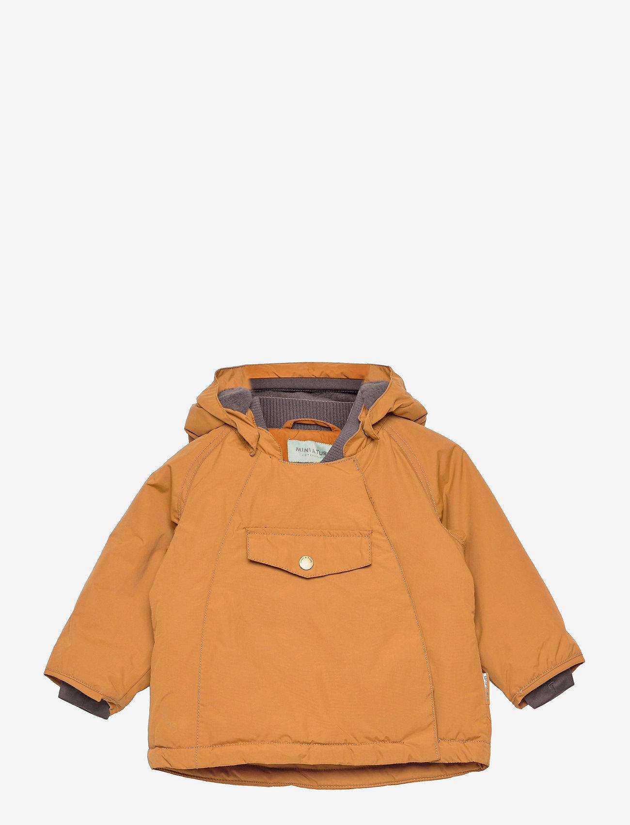 Mini A Ture - Wang Jacket, M - winter jacket - rubber brown - 0