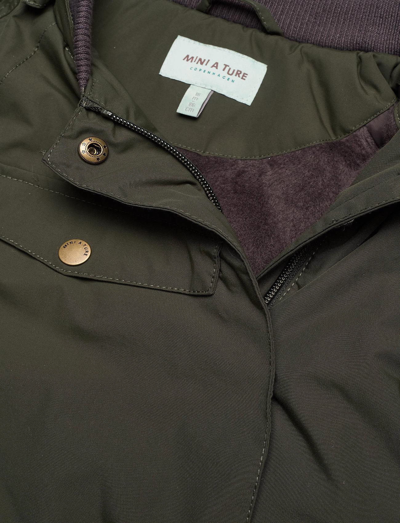 Mini A Ture - Wang Fake Fur Jacket, M - winter jacket - deep depths - 0