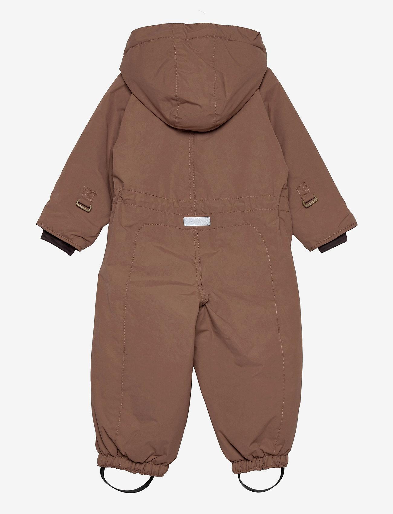Mini A Ture - Wisti Suit, M - snowsuit - acorn brown - 1