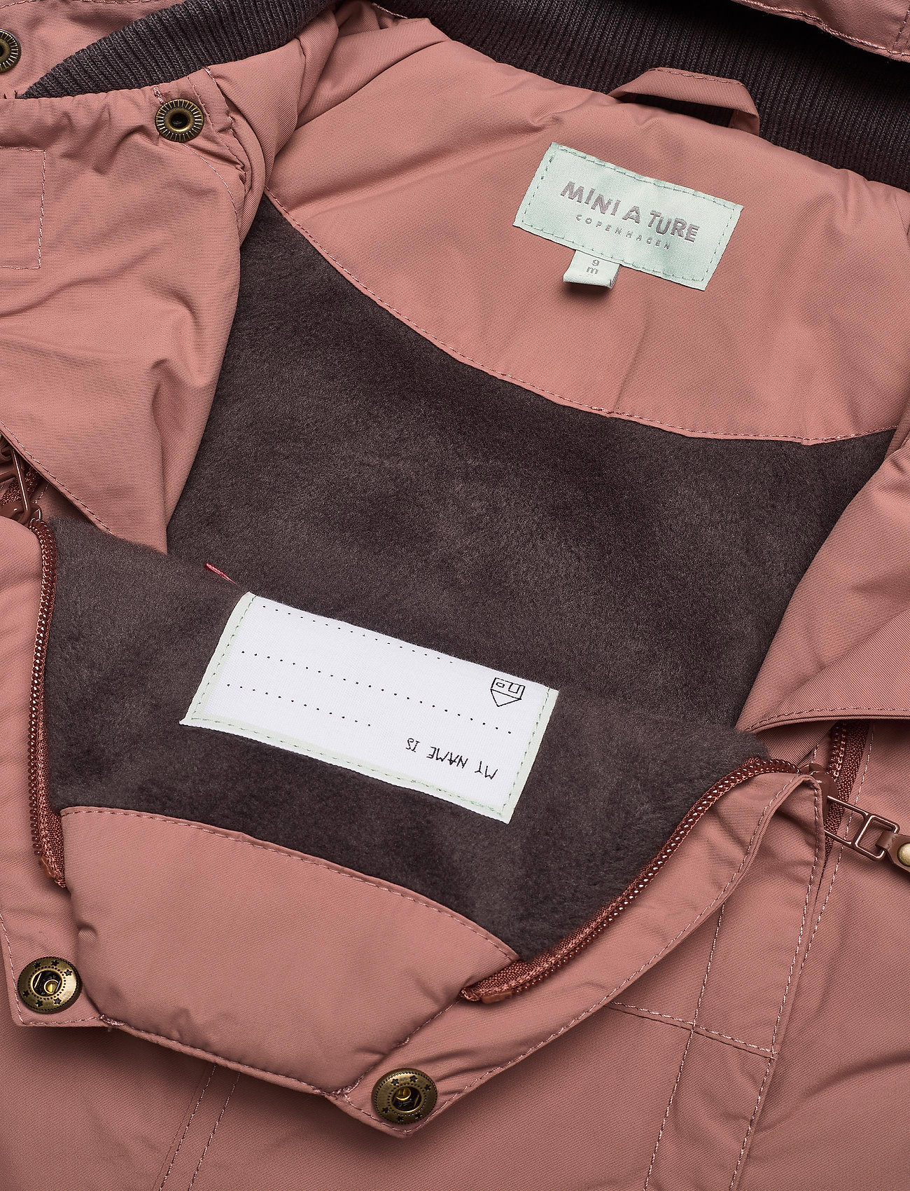 Mini A Ture - Wisti Suit, M - snowsuit - wood rose - 0