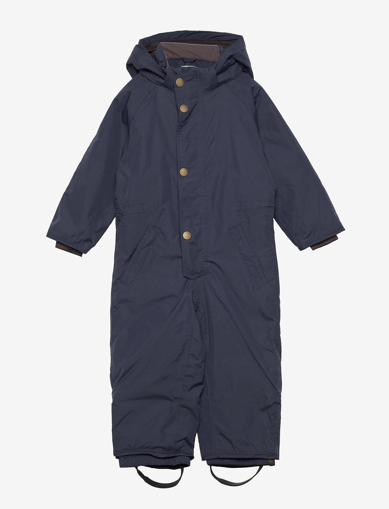 Mini A Ture - Wanni Snowsuit, K - snowsuit - blue nights - 0