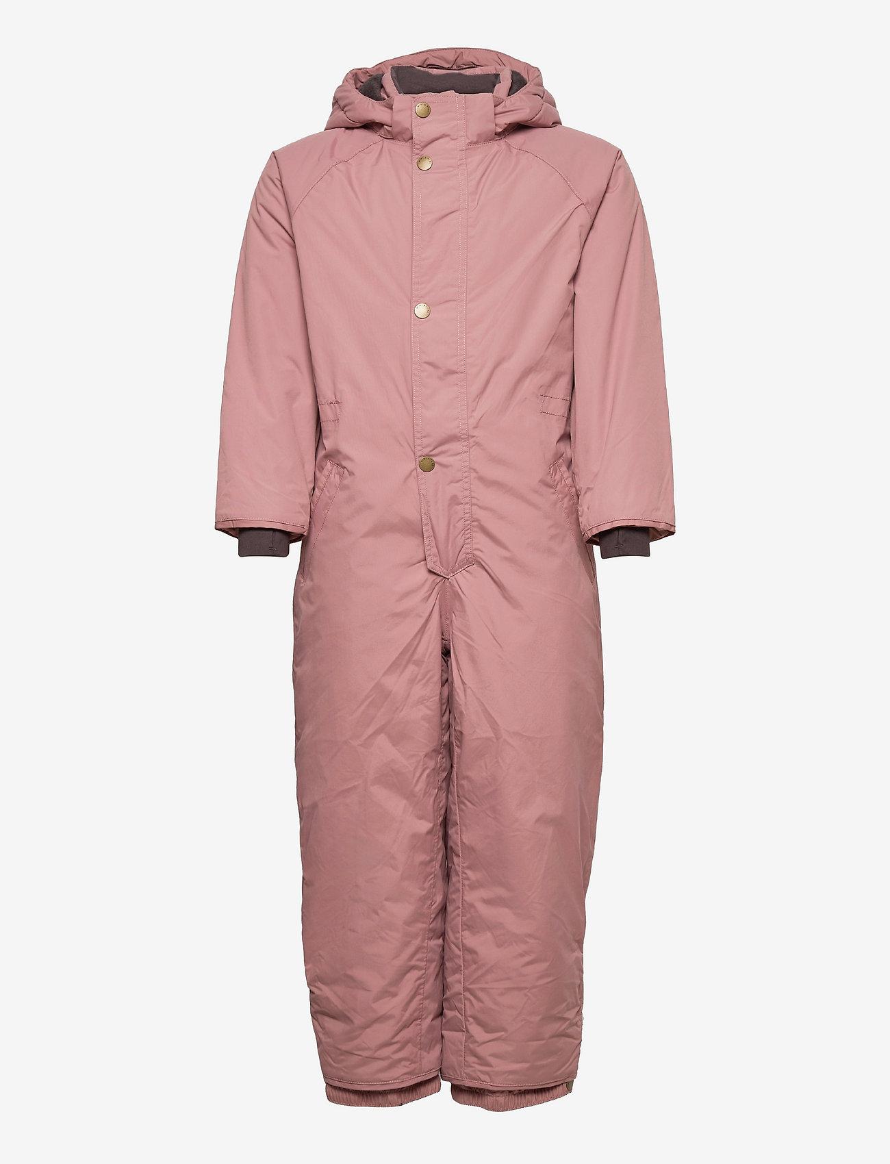 Mini A Ture - Wanni Snowsuit, K - snowsuit - wood rose - 0