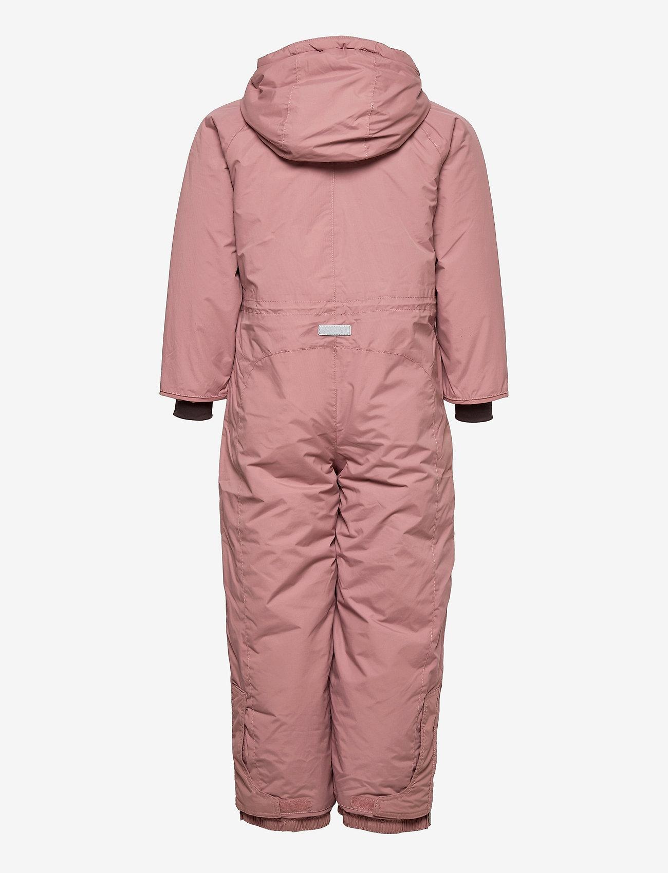 Mini A Ture - Wanni Snowsuit, K - snowsuit - wood rose - 1