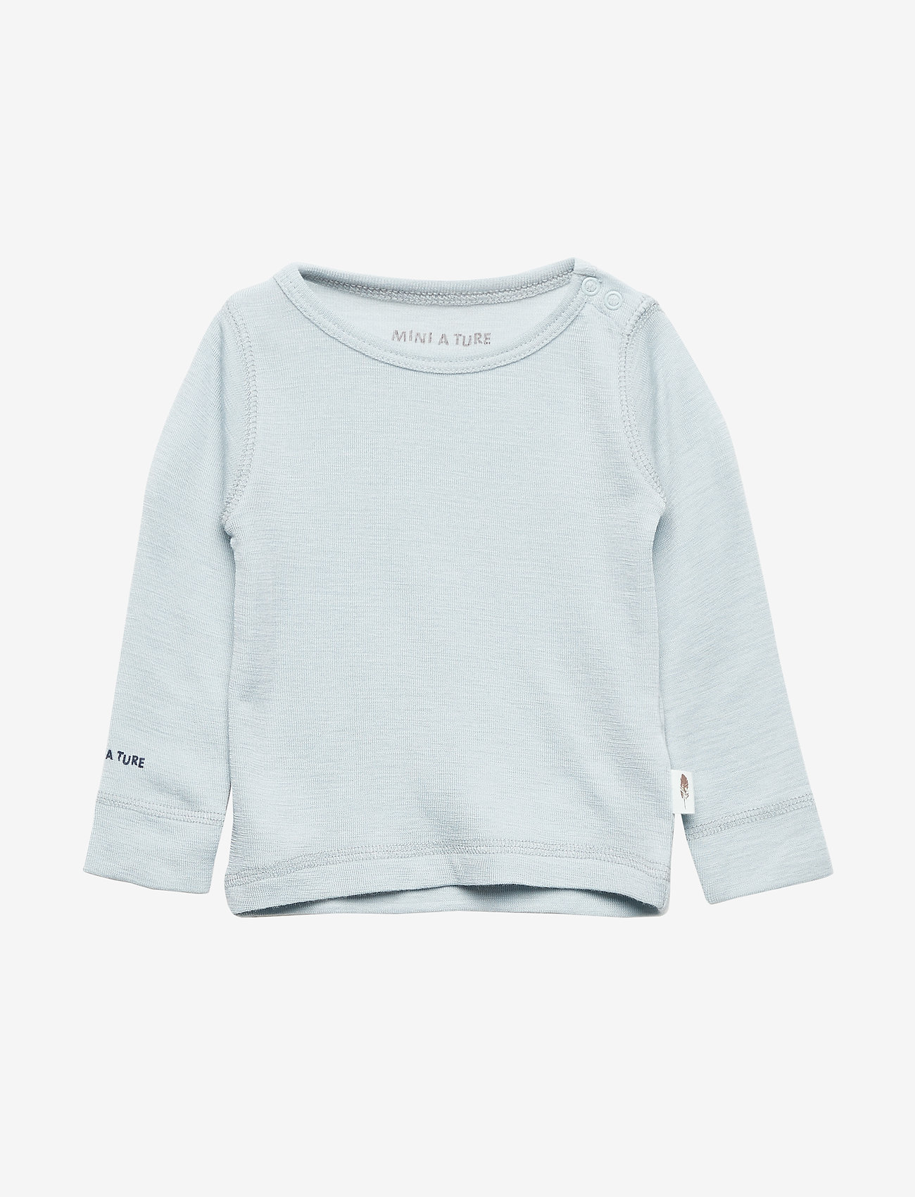 Mini A Ture - Erion T-shirt, MK - lange mouwen - baby blue - 0