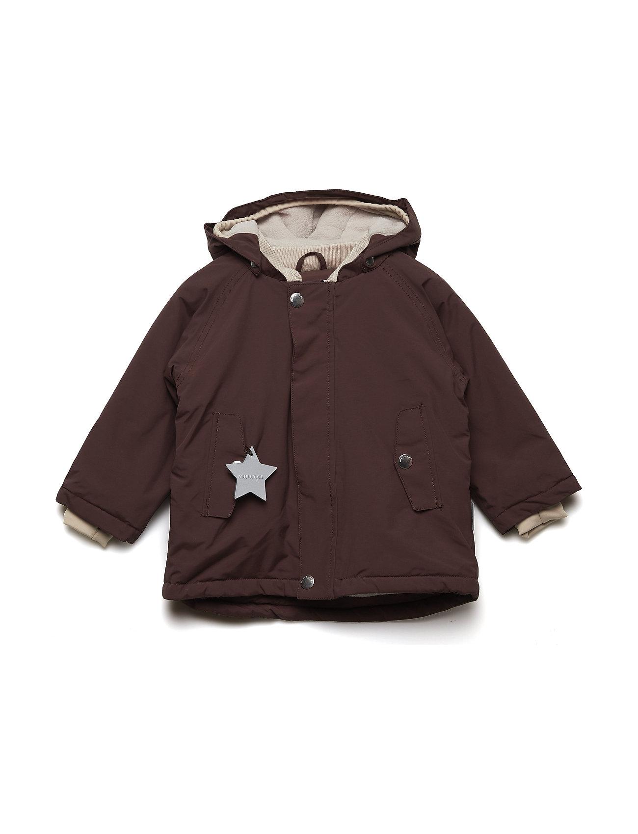 Mini A Ture Wally Jacket, M - DEEP MAHOGANY