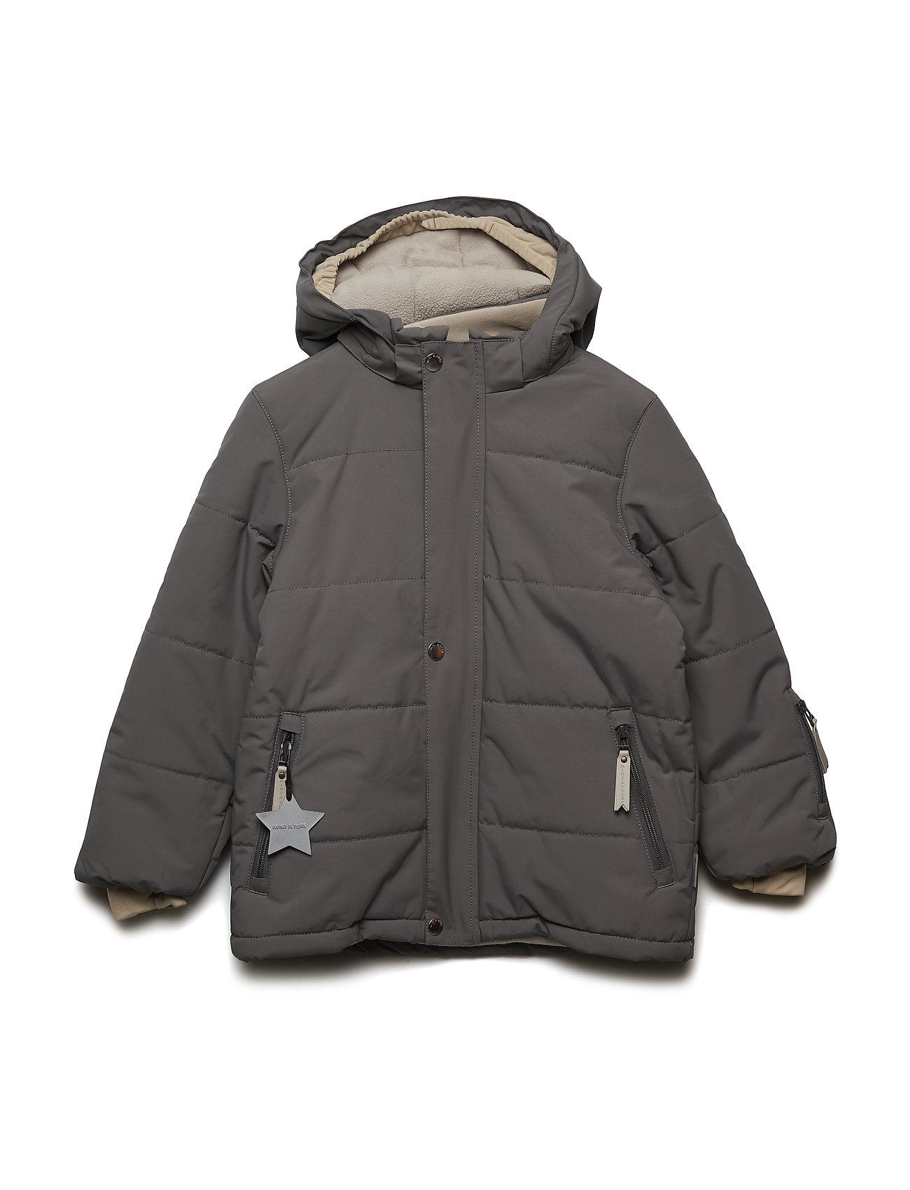 Mini A Ture Wessel Jacket, K - STEEL GREY