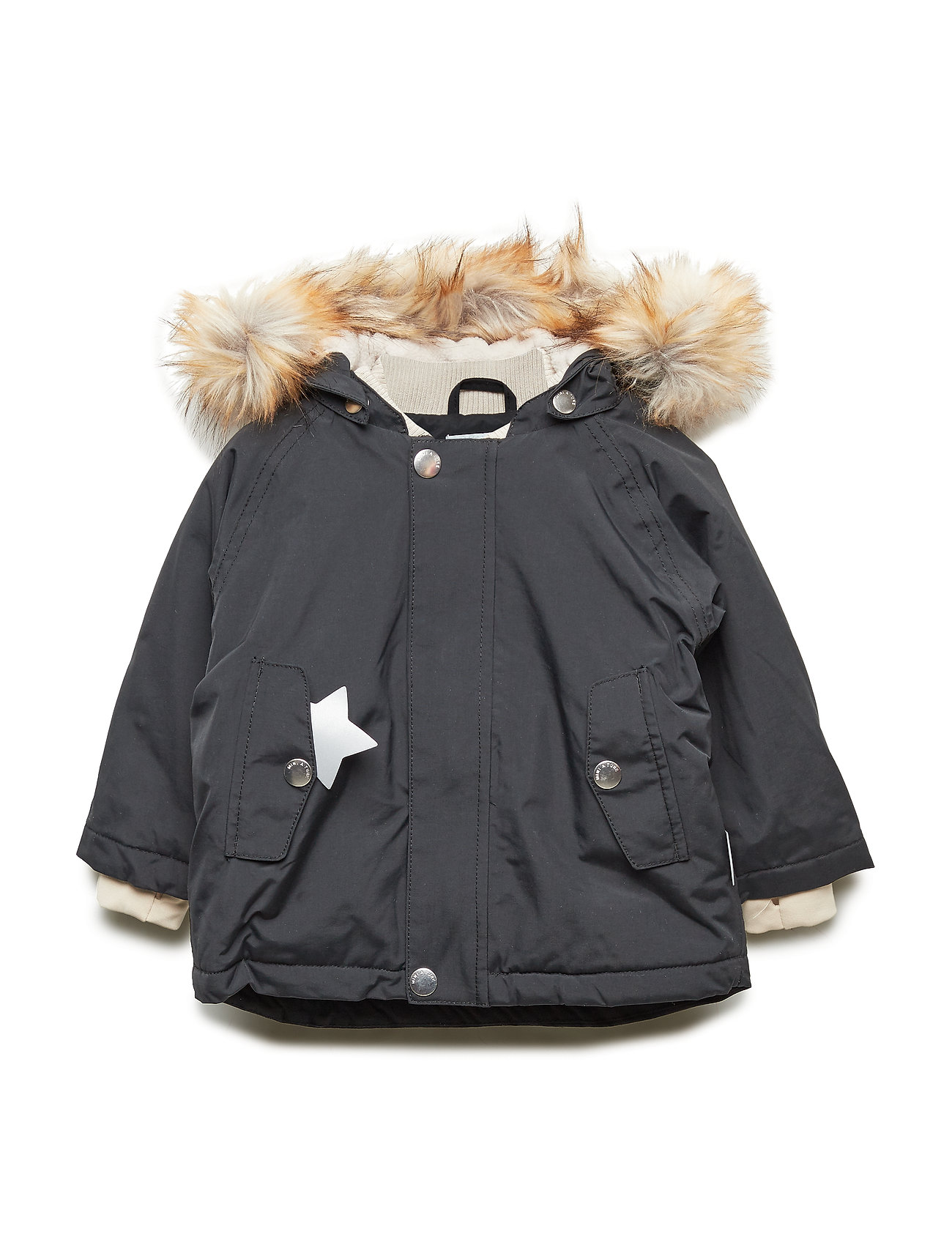 Mini A Ture Wally Faux Fur Jacket, M