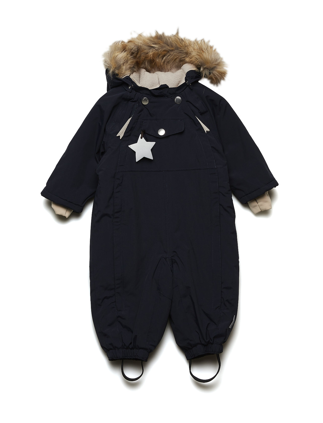 5b8b8c41ac1 Mini A Ture flyverdragter – Wisti Faux Fur Snowsuit, M til børn i ...