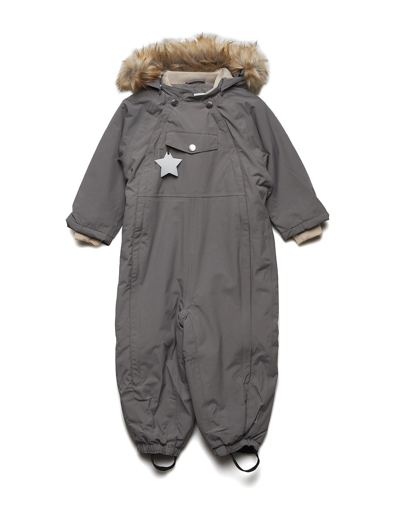 Mini A Ture Wisti Faux Fur Snowsuit, M