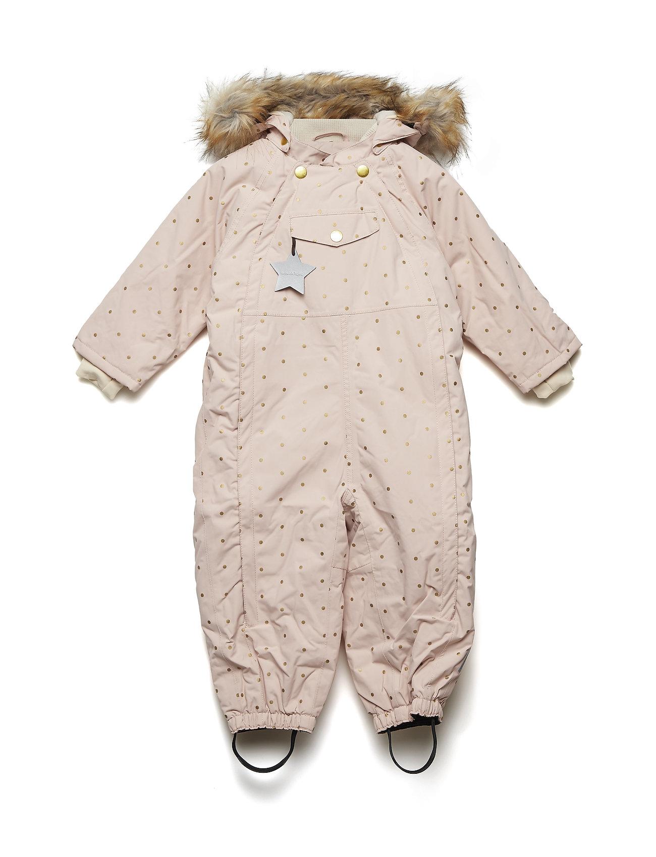 602b7f81191 Wisti Faux Fur Snowsuit, M (Rose Smoke) (1019.40 kr) - Mini A Ture ...