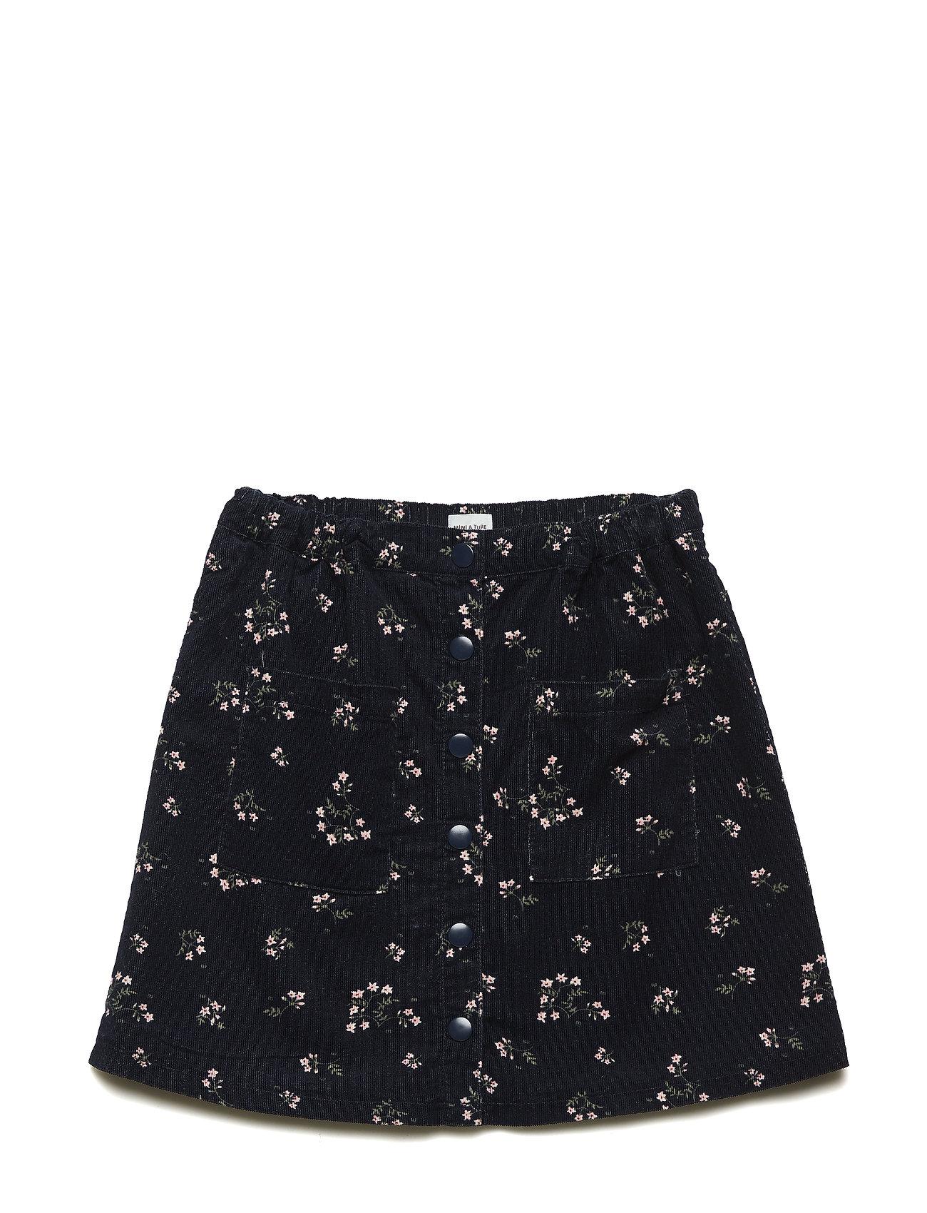 Mini A Ture Billie Skirt, K - SKY CAPTAIN BLUE
