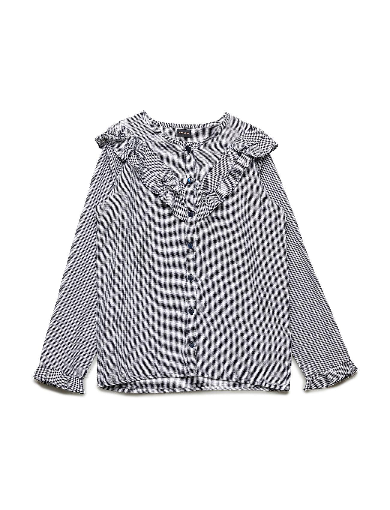 Mini A Ture Maia Shirt, K - SKY CAPTAIN BLUE