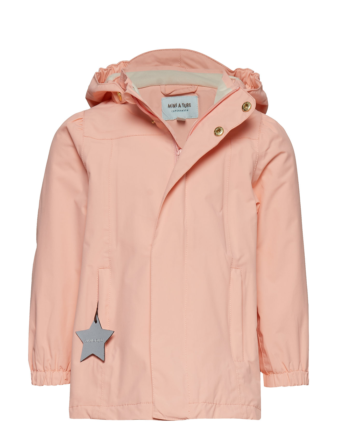 Mini A Ture Wilja Jacket, K - PEACH BUD