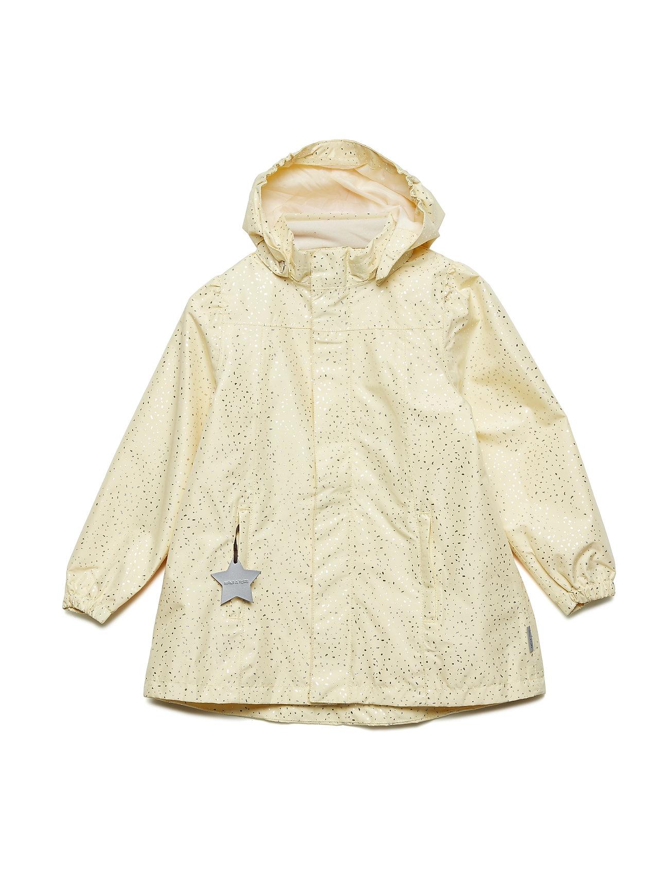 Mini A Ture Wilja Jacket, K - YELLOW ANISE FLOWER