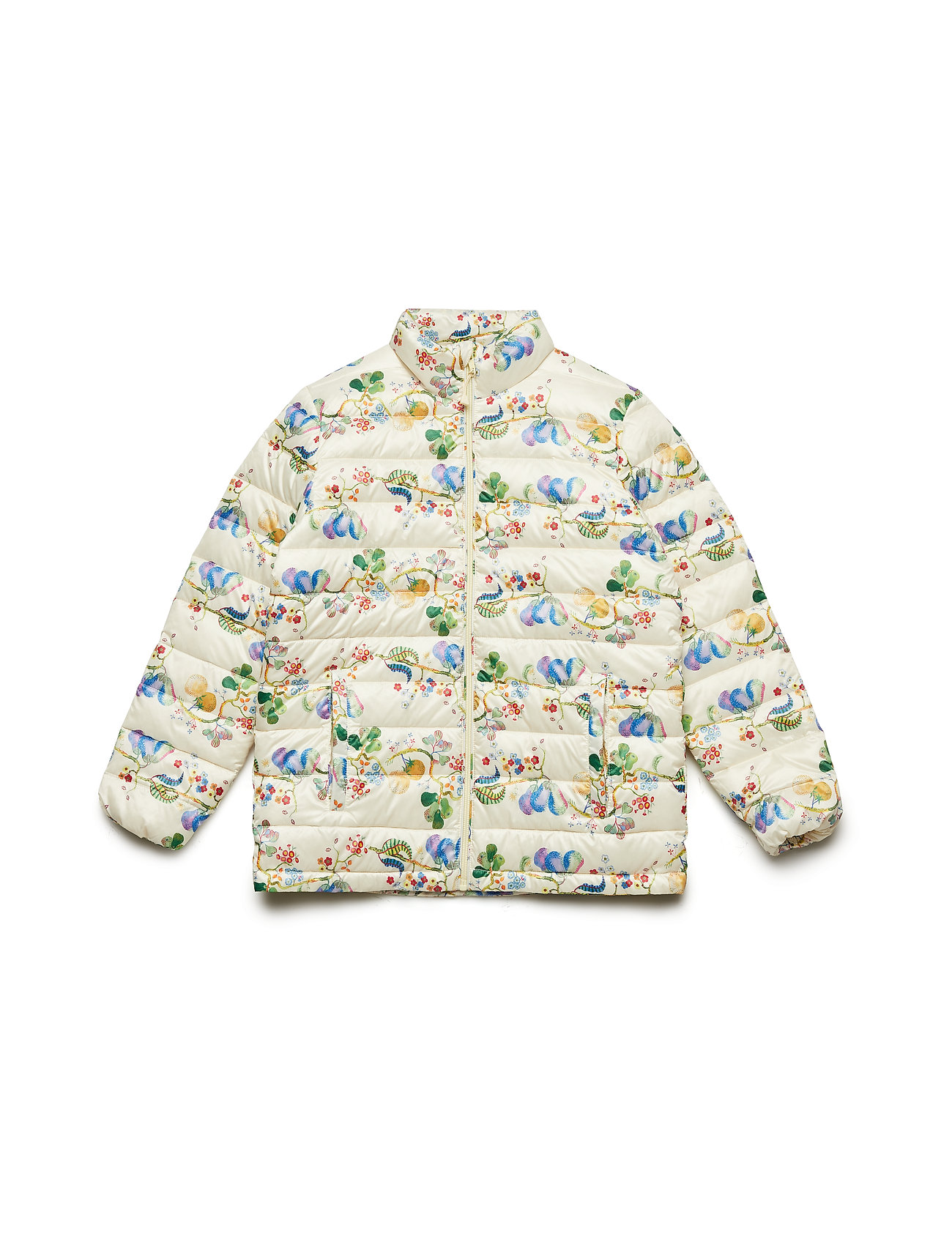 Mini A Ture Helge Jacket, K - YELLOW ANISE FLOWER