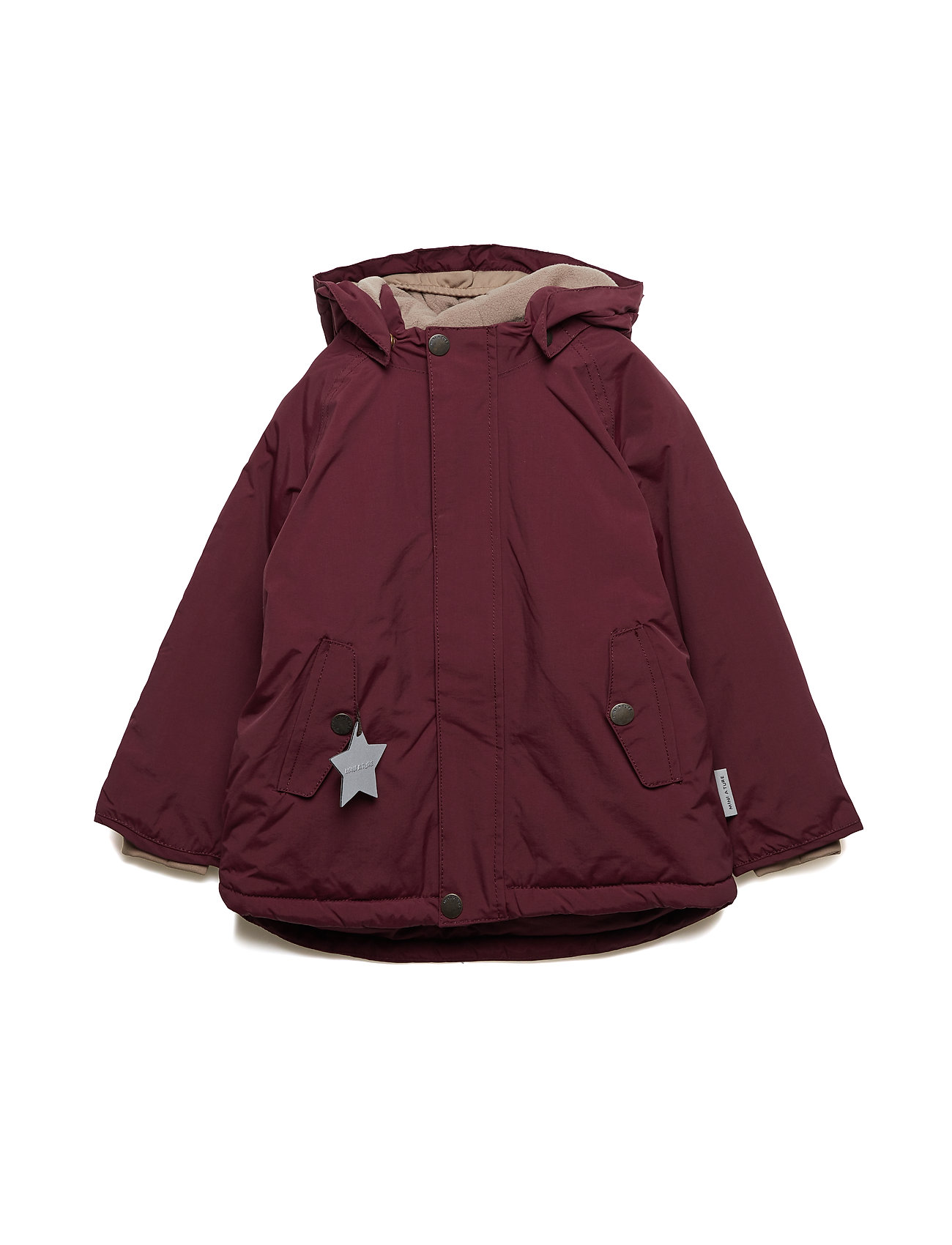Mini A Ture Wally Jacket, M - WINETASTING PLUM
