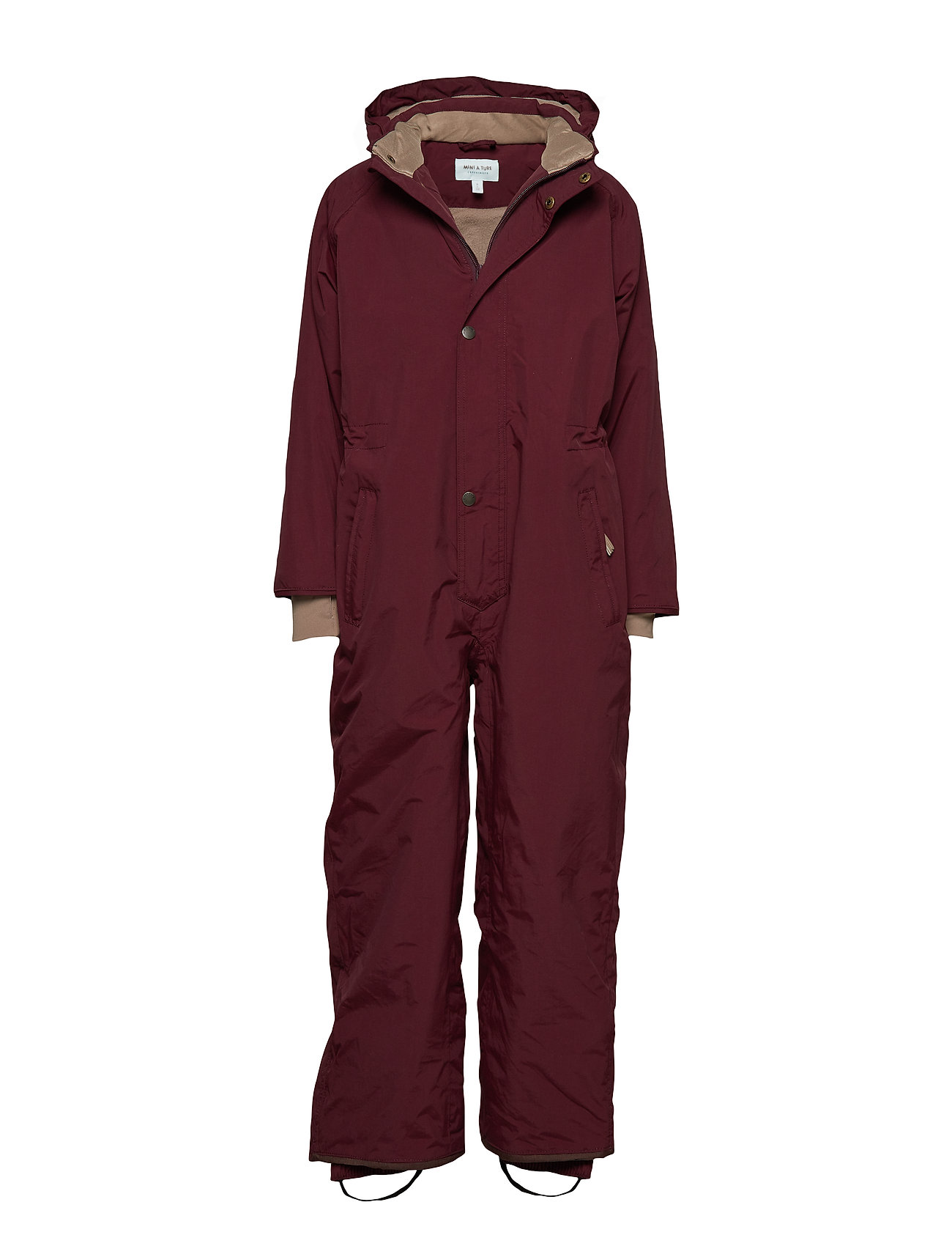 Mini A Ture Wanni Snowsuit, K - WINETASTING PLUM