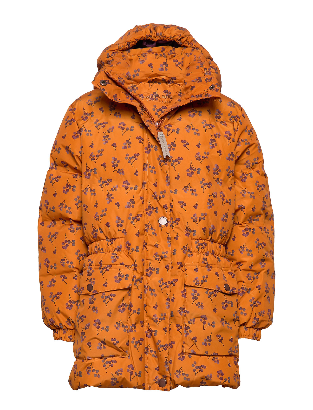 Mini A Ture Wencke Jacket, K - AUTUMNAL BROWN