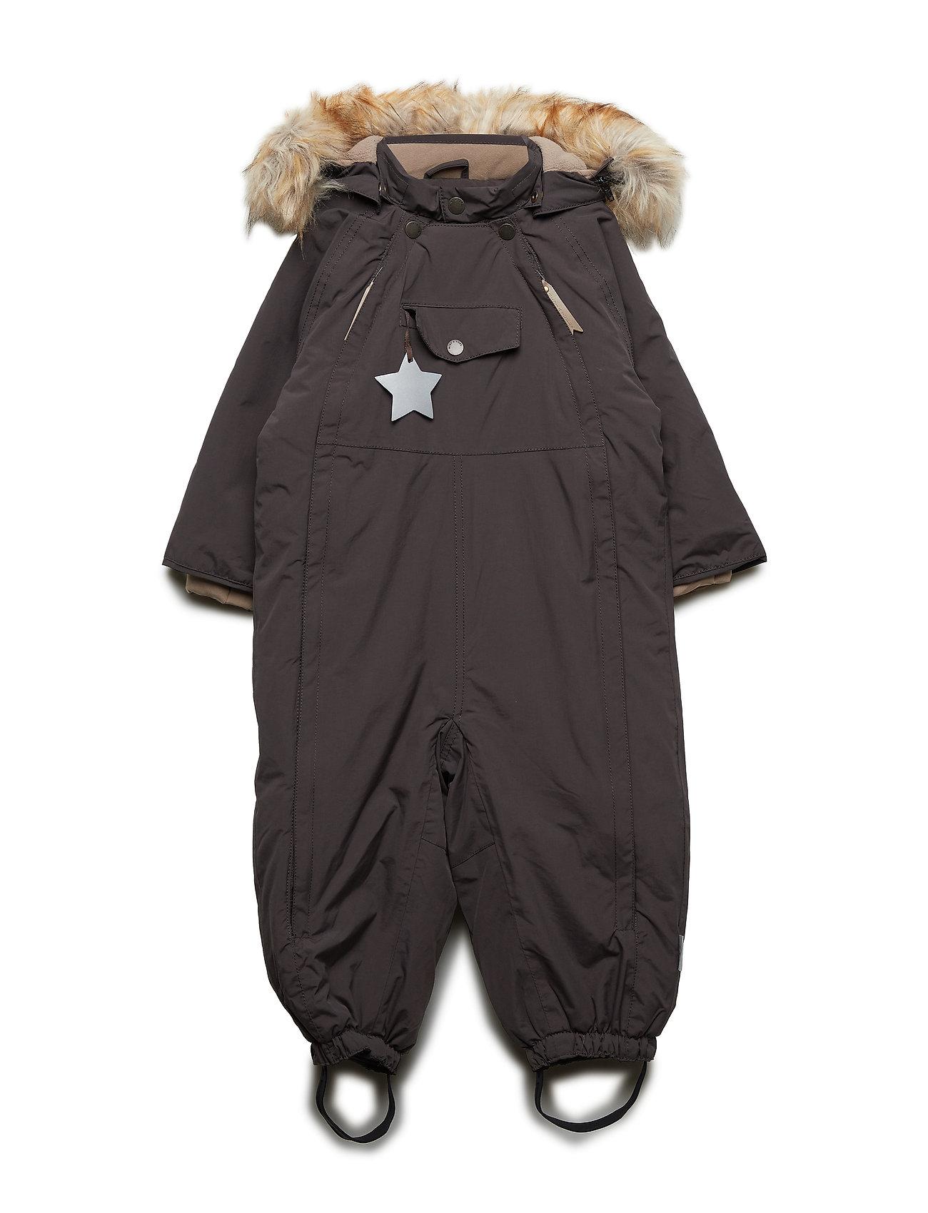 Mini A Ture Wisti Faux Fur Snowsuit, M - LICORISE