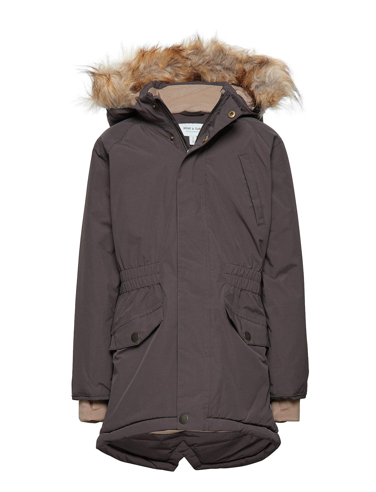 Mini A Ture Vibse Fuex Fur Jacket, K - LICORISE