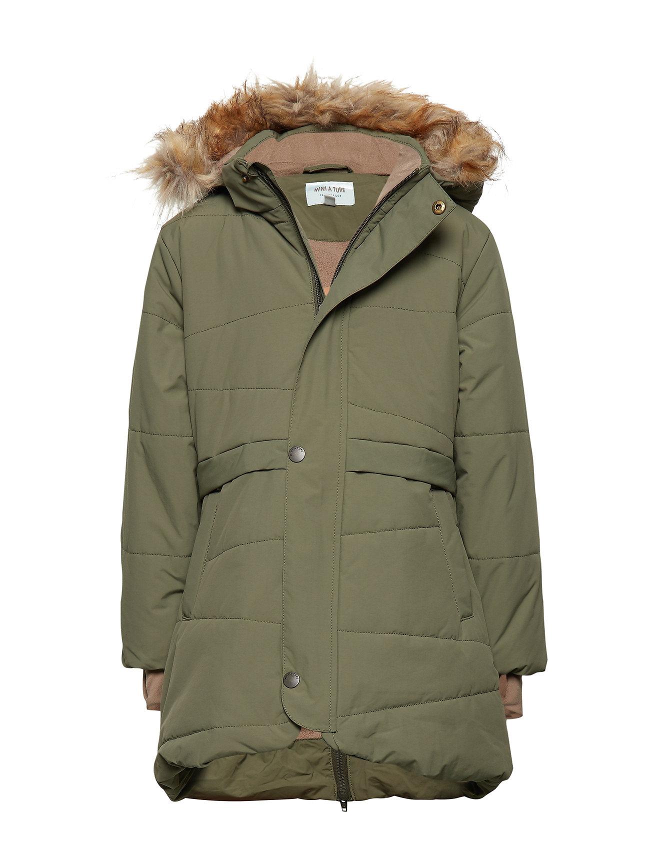 Mini A Ture Witta Faux Fur Jacket, K - BEETLE
